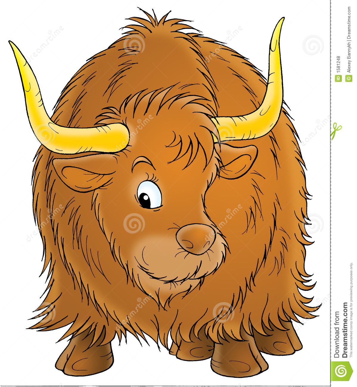 ox stock illustration image of album  card  drawn oxen clipart free oven clipart