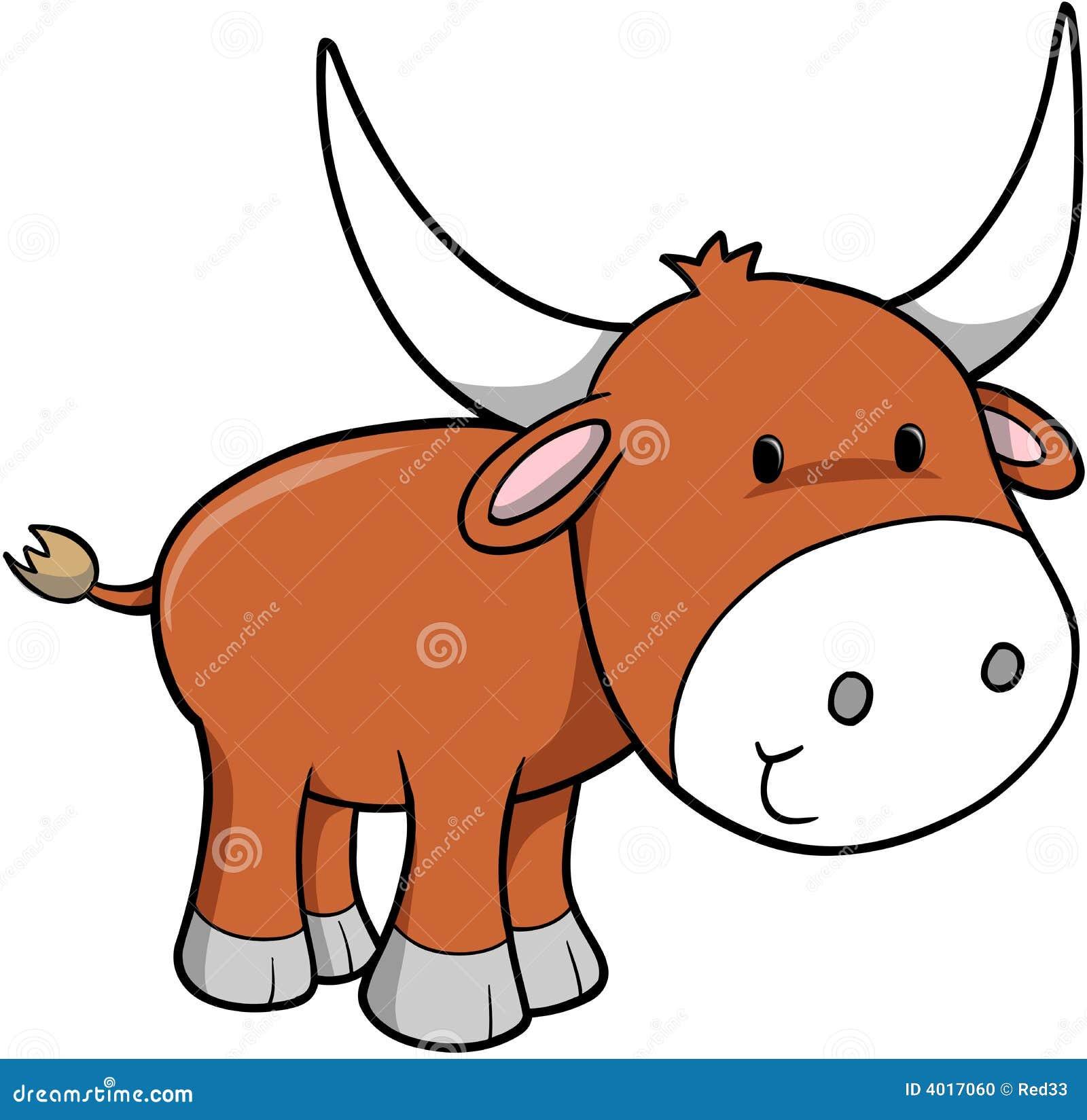 Ox Vector Illustration Stock Photo - Image: 4017060