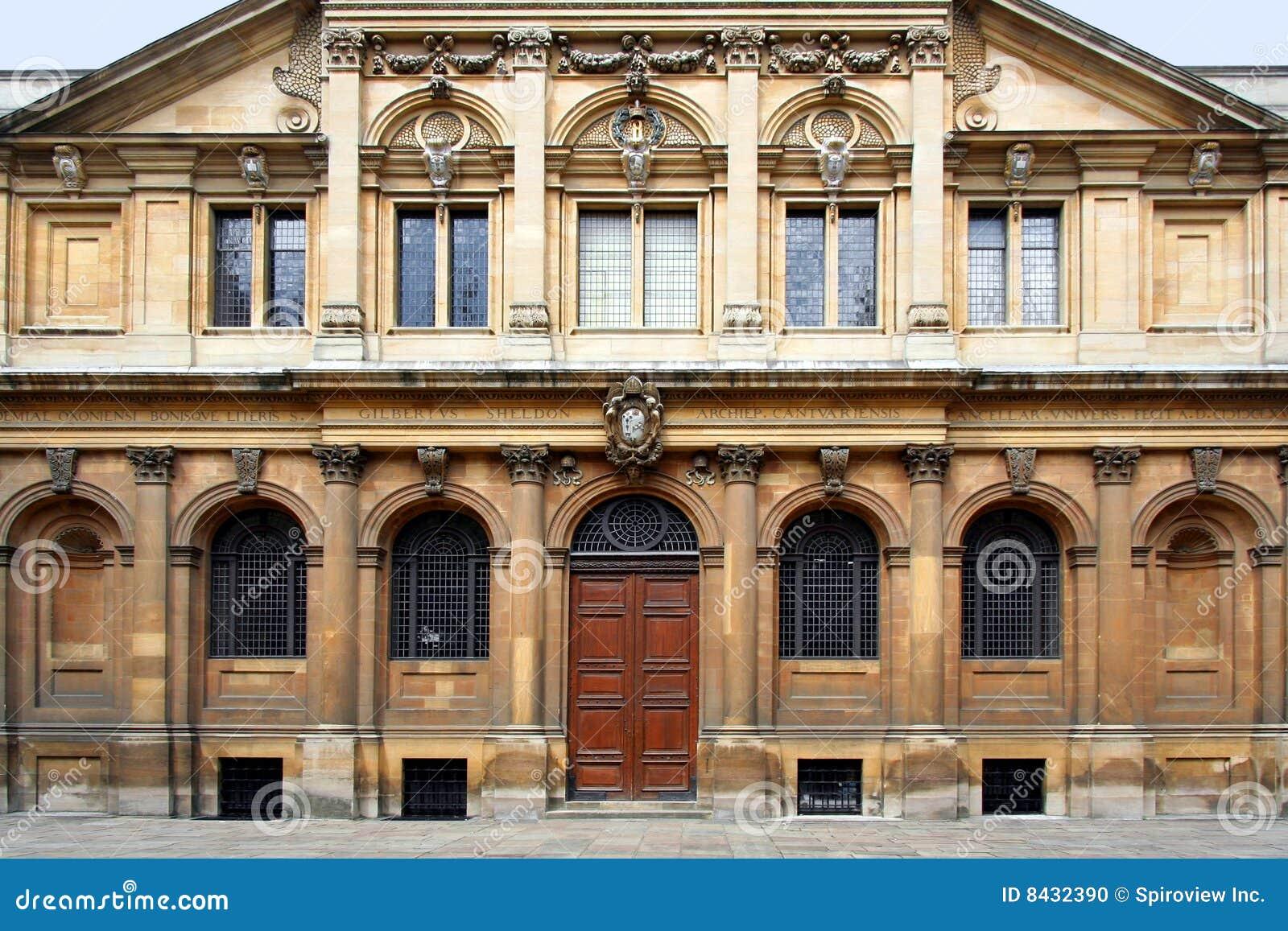 Oxford sheldonian theatre uniwersytet