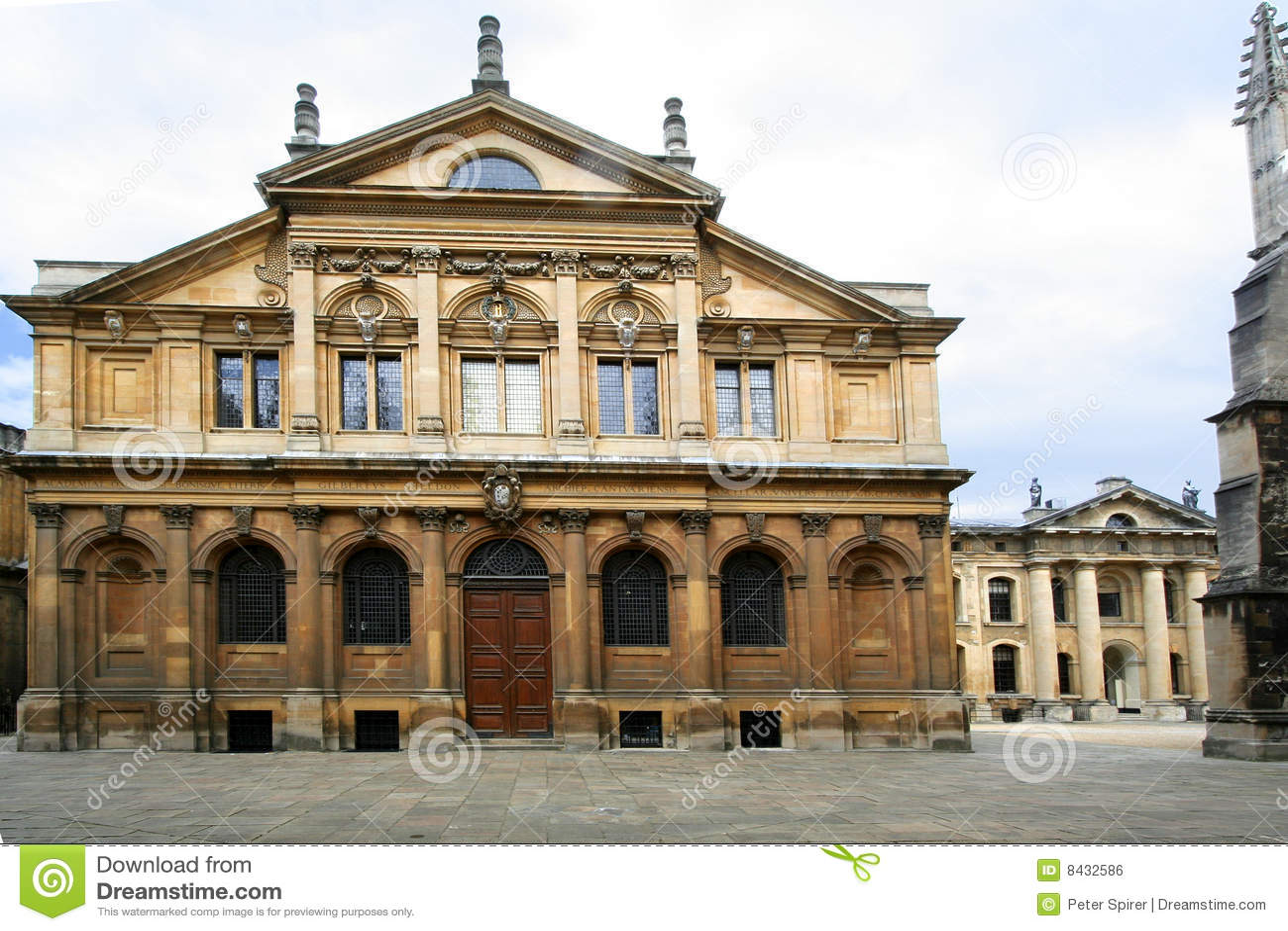Oxford University, Sheldonian Theatre