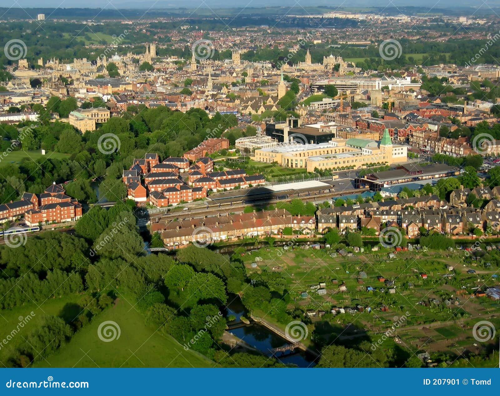 Oxford van de lucht