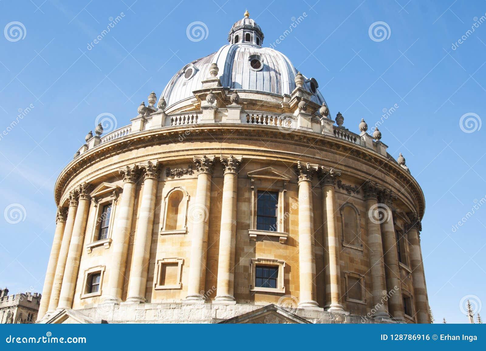 Oxford, Vereinigtes Königreich 13. Oktober 2018 - die Bodleian-Bibliothek, die Hauptforschungsbibliothek University of Oxfords, i