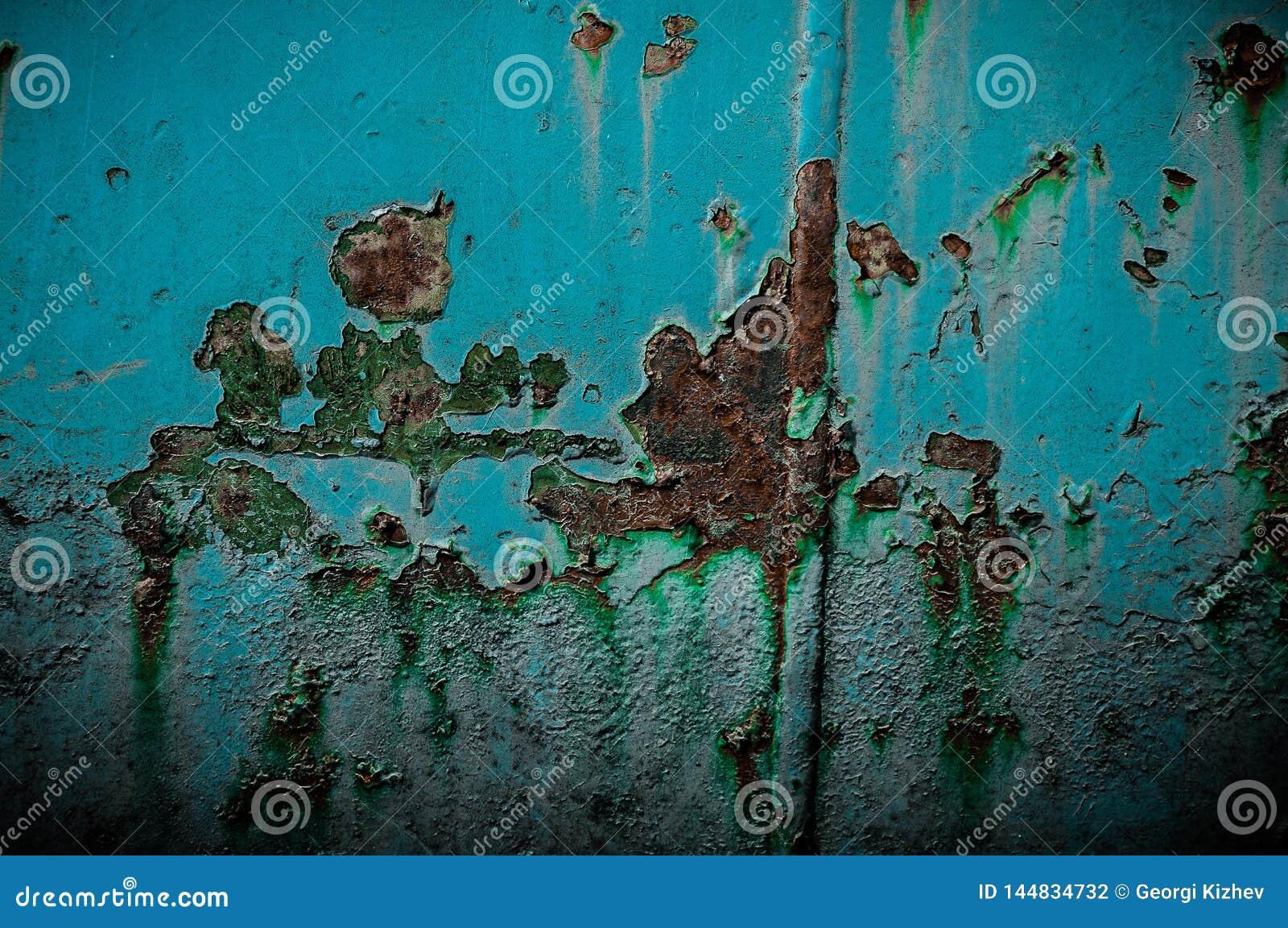 Oxidação e elemento azul