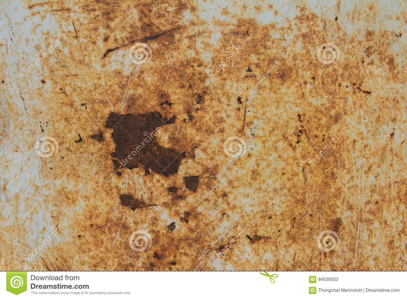 Oxide texture stock image  Image of stained, metallic - 84539503