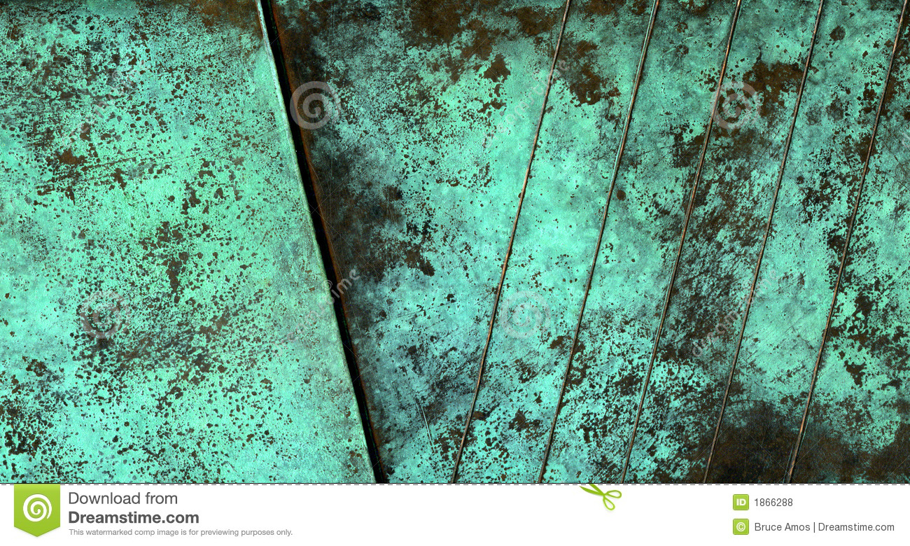 Oxidized Copper Texture Royalty Free Stock Photos Image