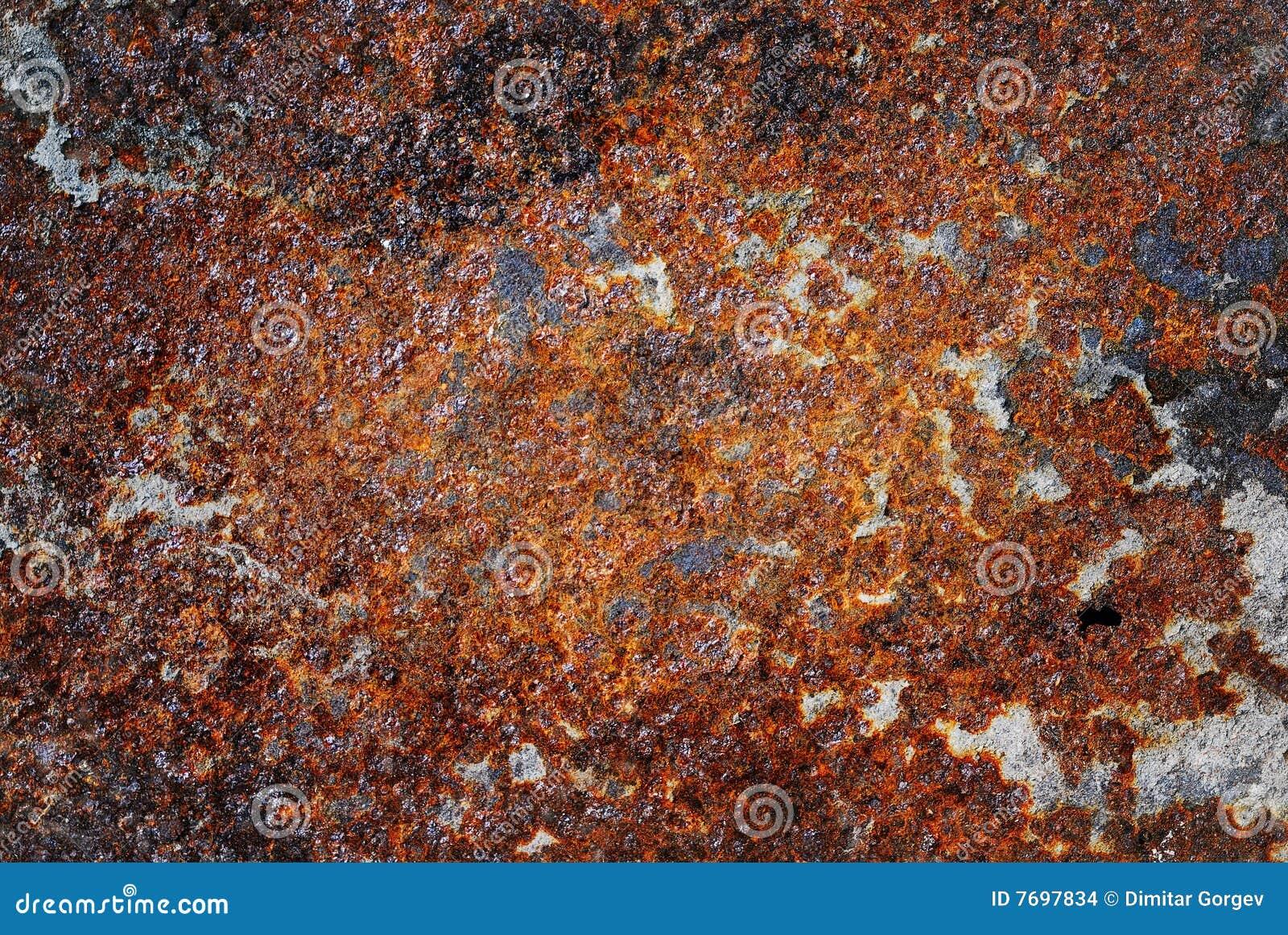Oxidized Metal Stock Photo Image Of Colorful Grunge