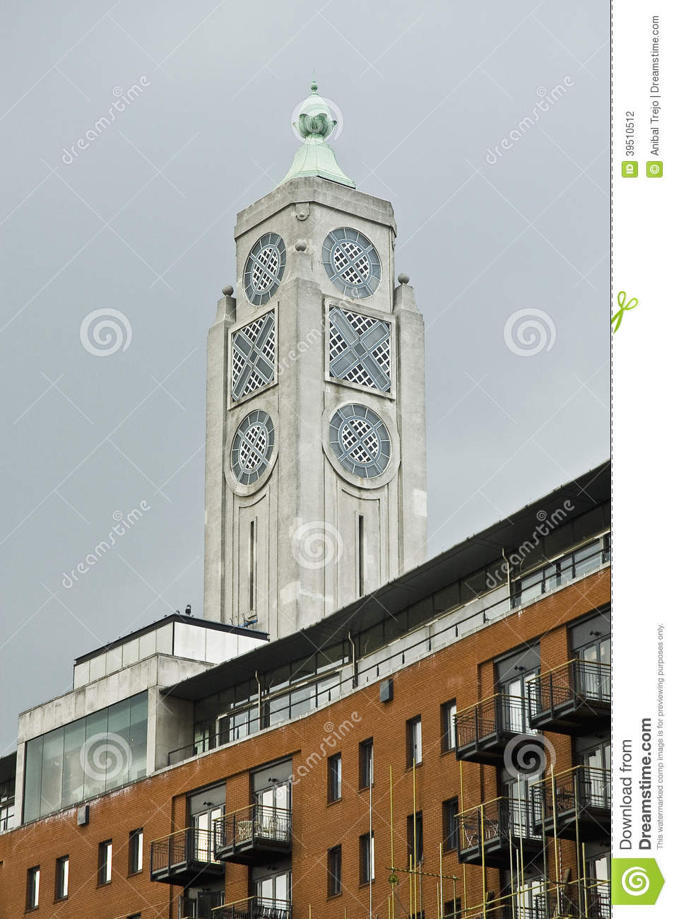 Oxo Tower building at London