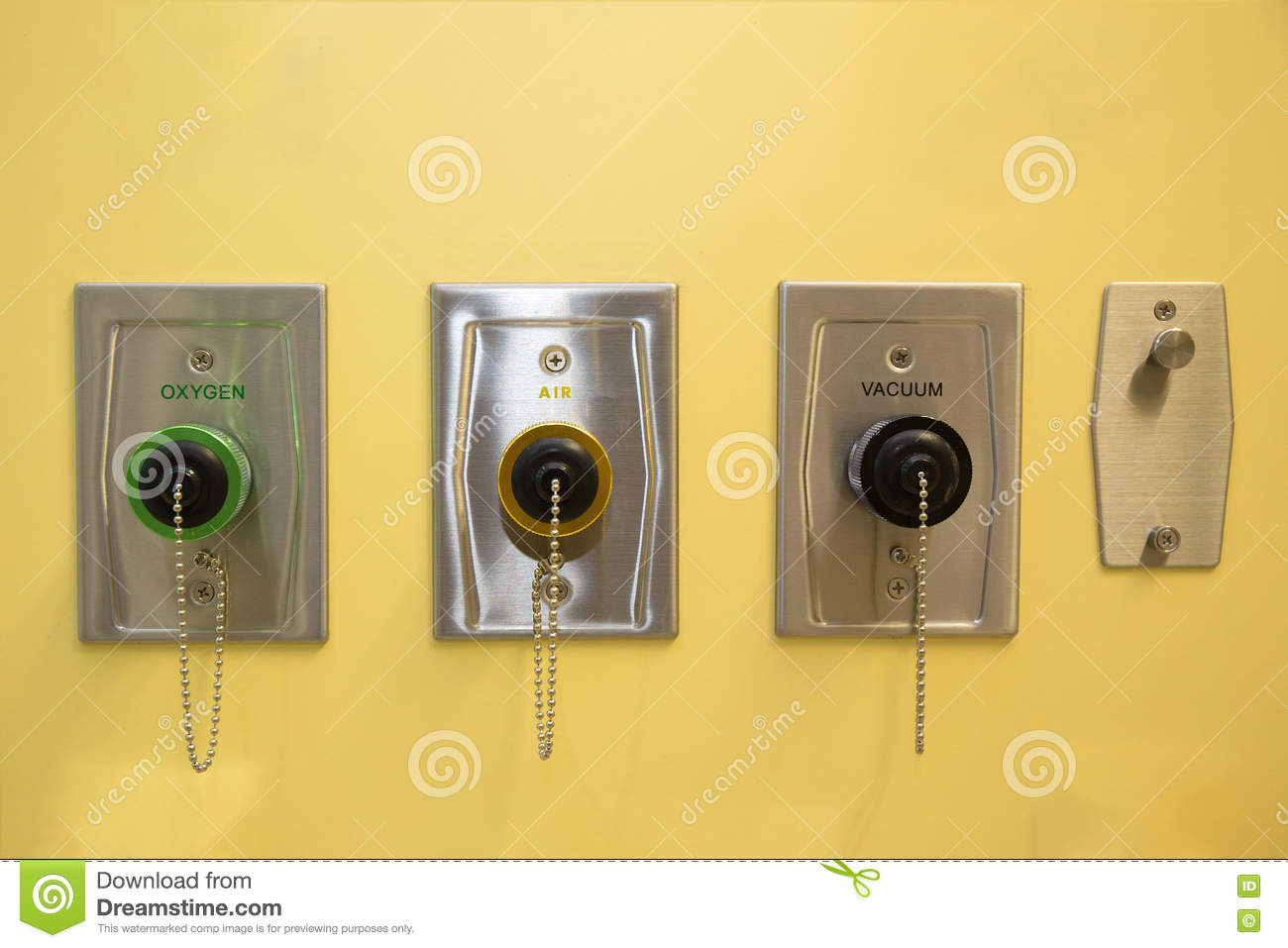 Oxygen Equipment In An Hospital Room Stock Photo - Image: 26349770