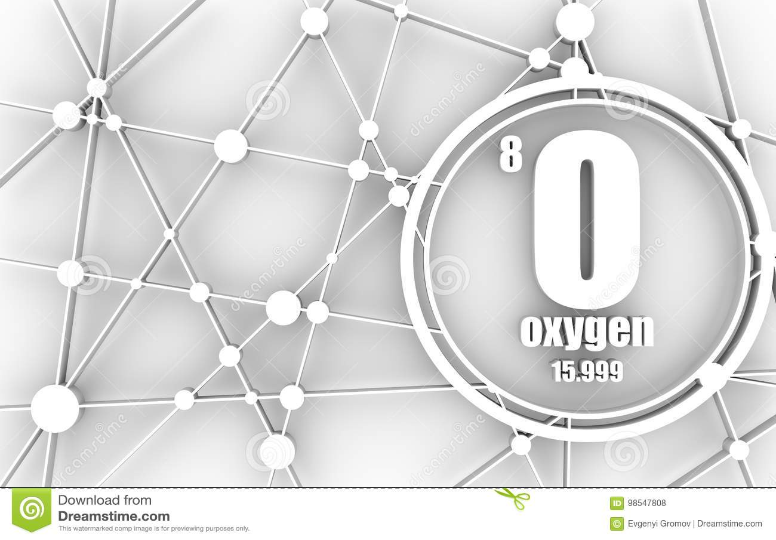 Oxygen chemical element stock illustration illustration of medical oxygen chemical element urtaz Choice Image