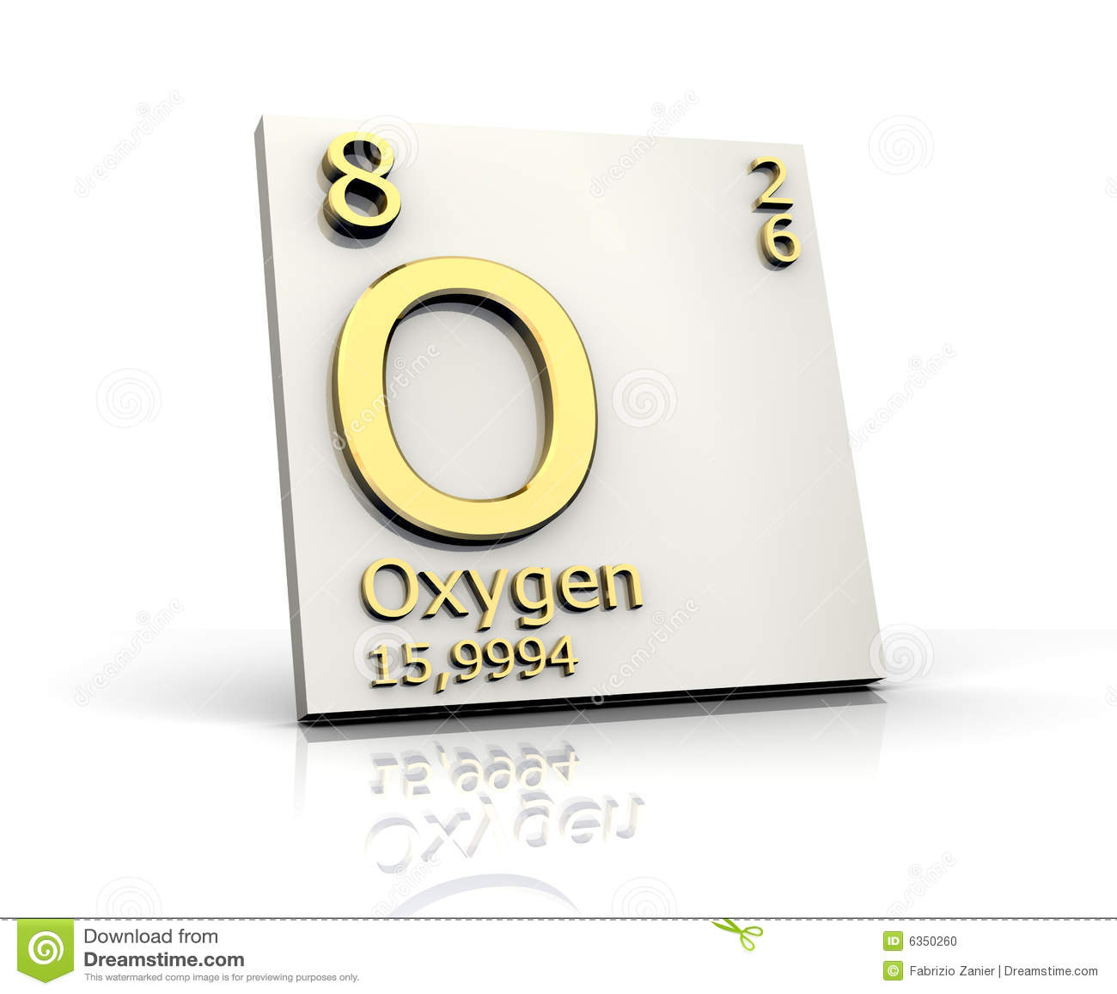 Oxygen form periodic table of elements stock illustration oxygen form periodic table of elements urtaz Gallery