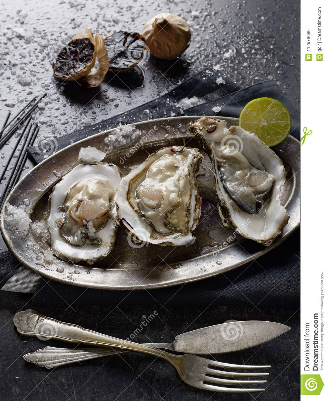 Oysters from above