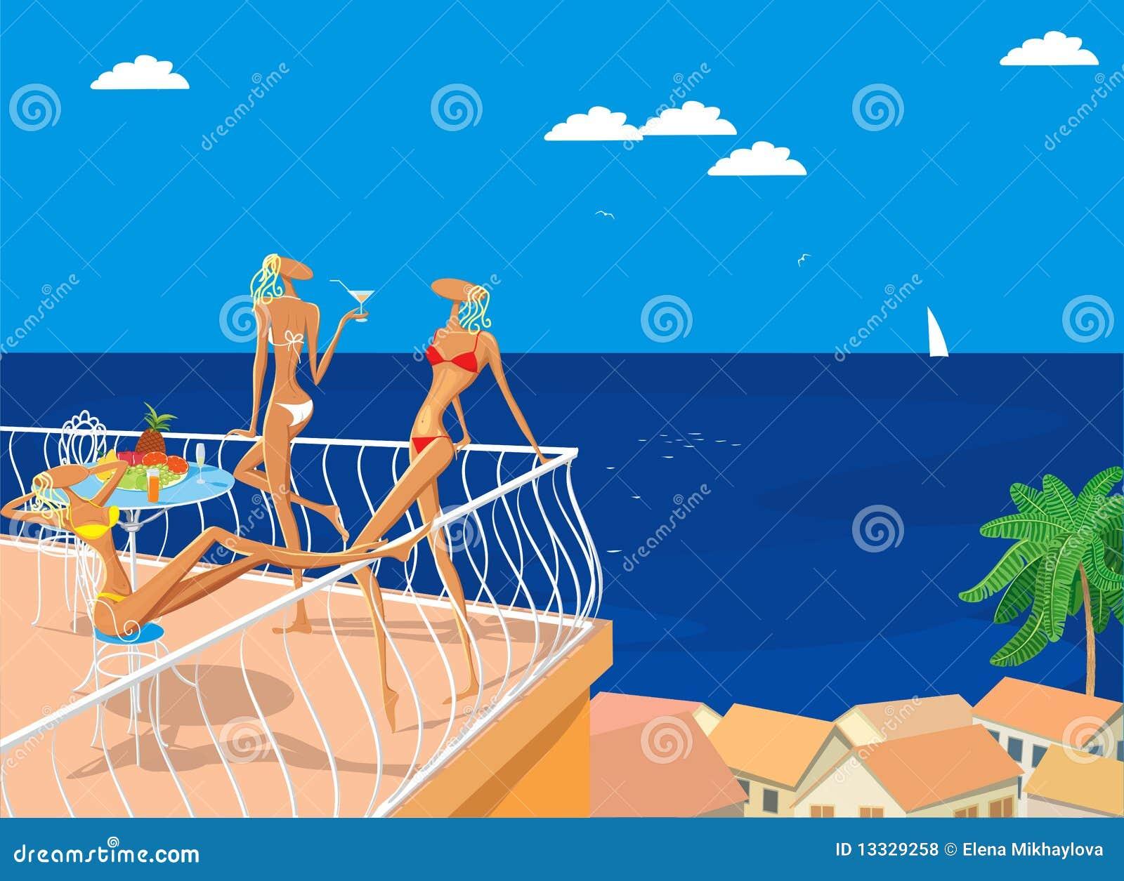 Ozdabia morze trzy