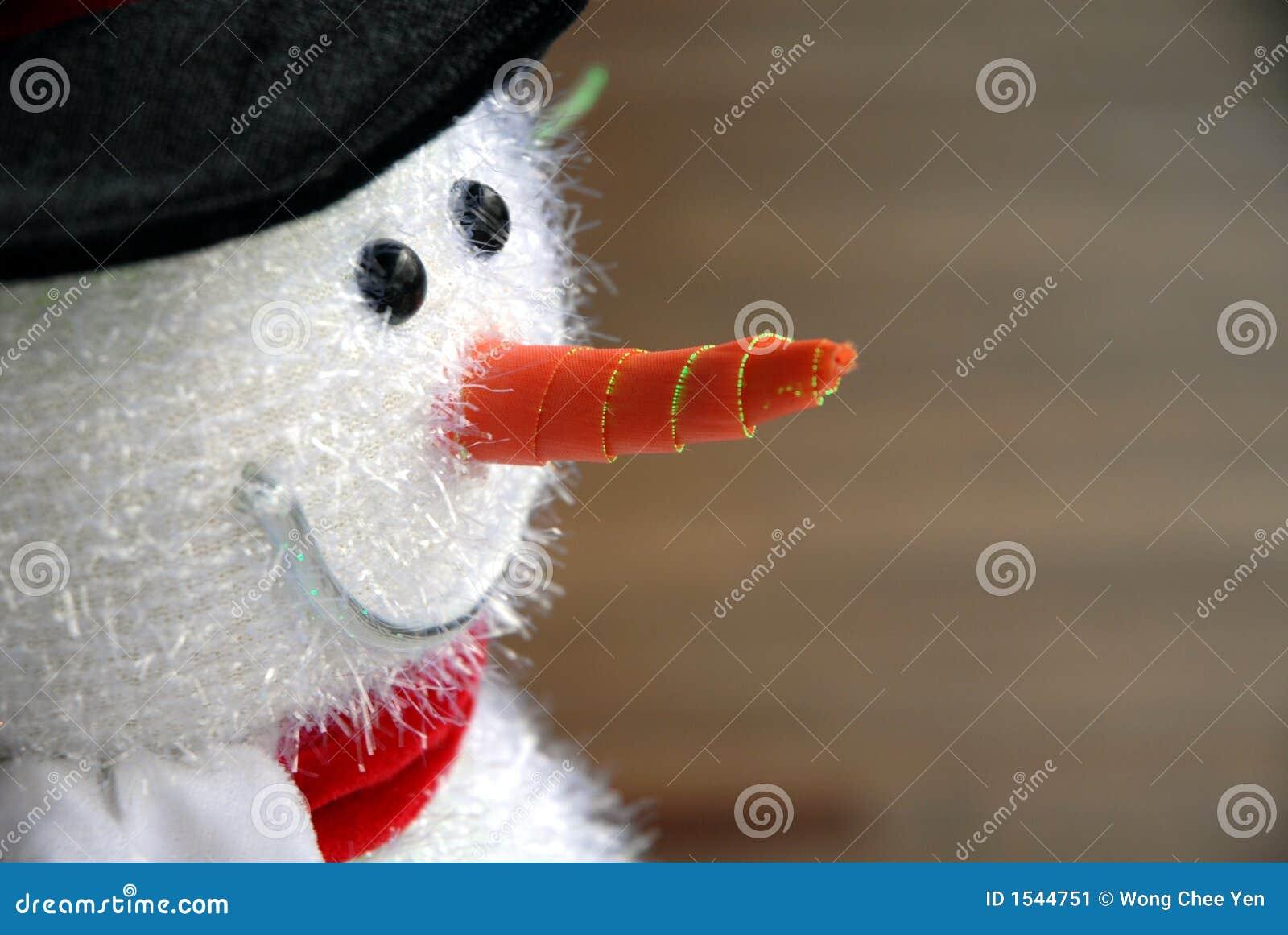 Ozdoby świąteczne bałwana