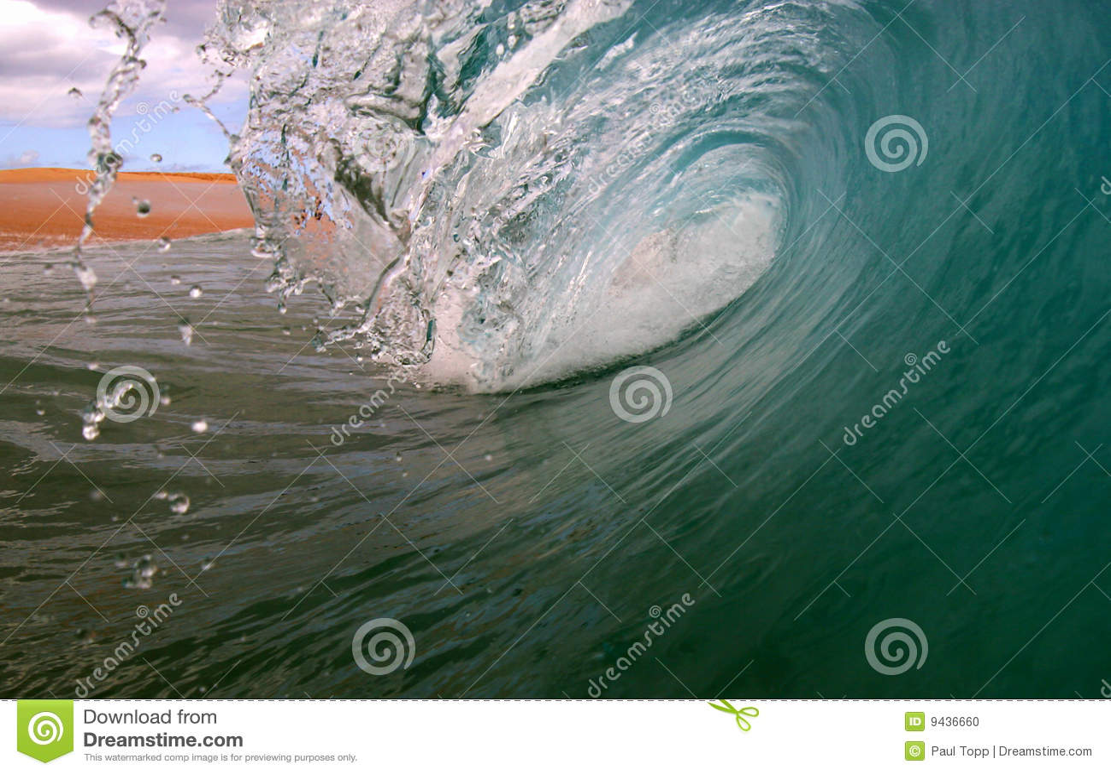 Ozean-Brandung-Welle