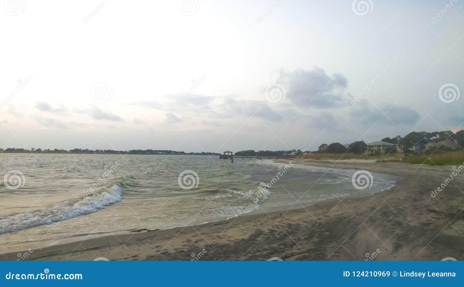 Ozean-Landschaft, Wasser-Landschaft