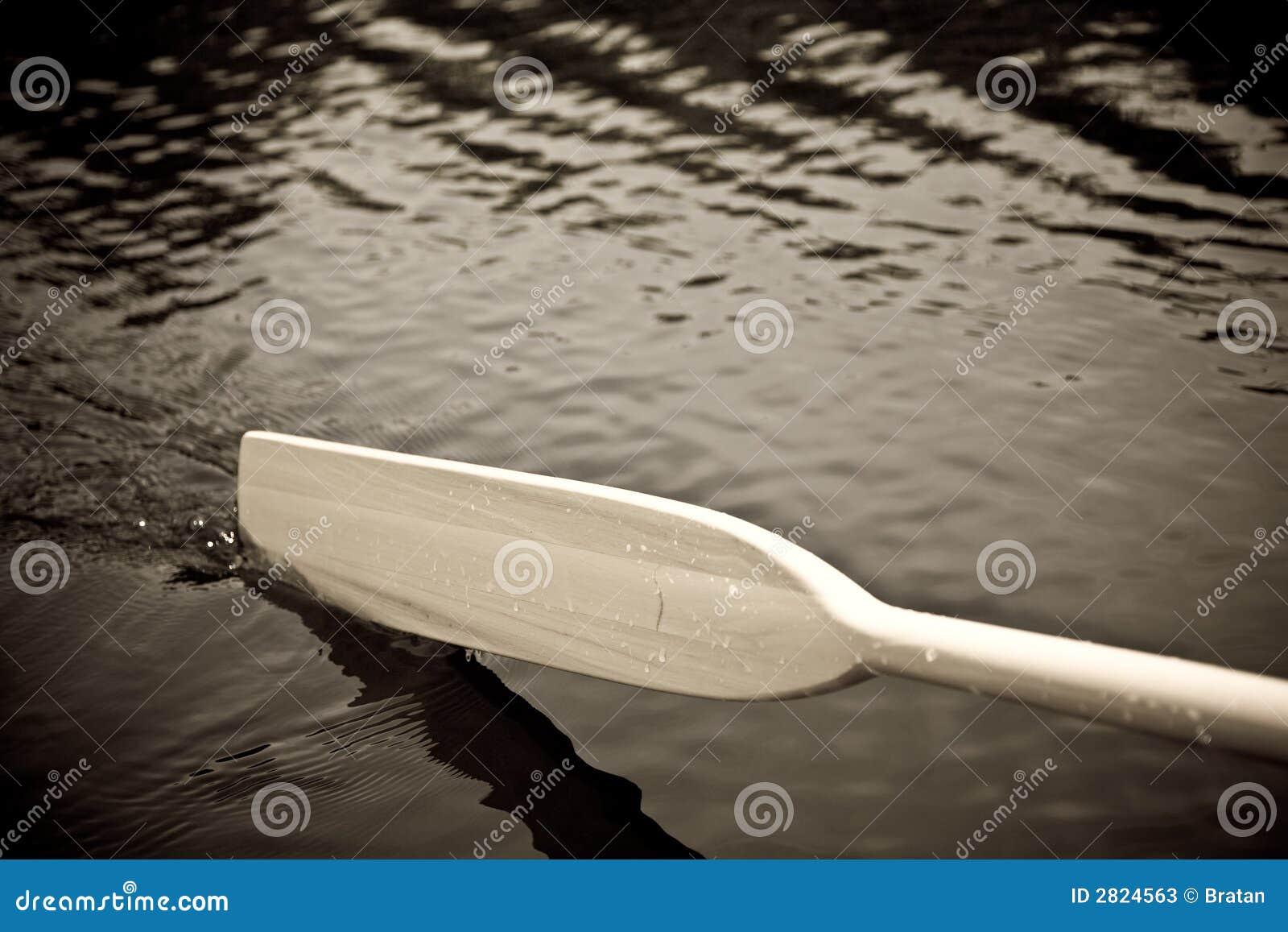 Pá na água
