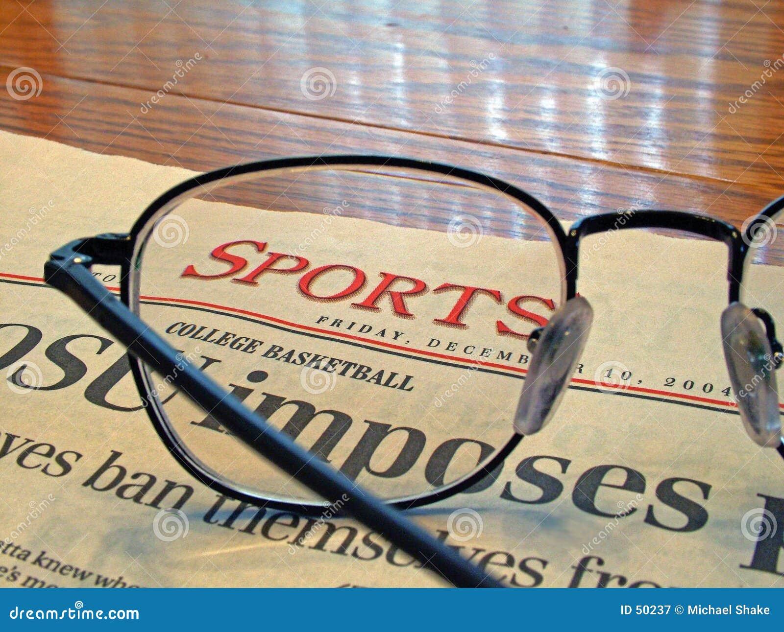 Página de esportes