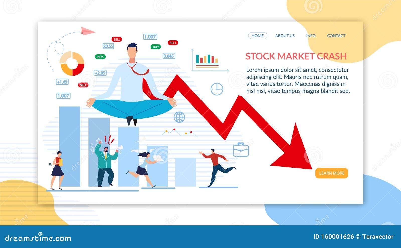 Página de inicio: apoyo en crisis del mercado de valores