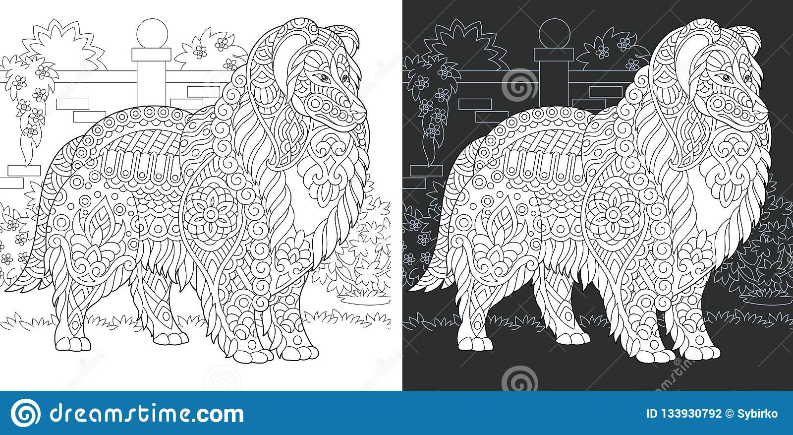 Colorante Ilustraciones Stock, Vectores, Y Clipart