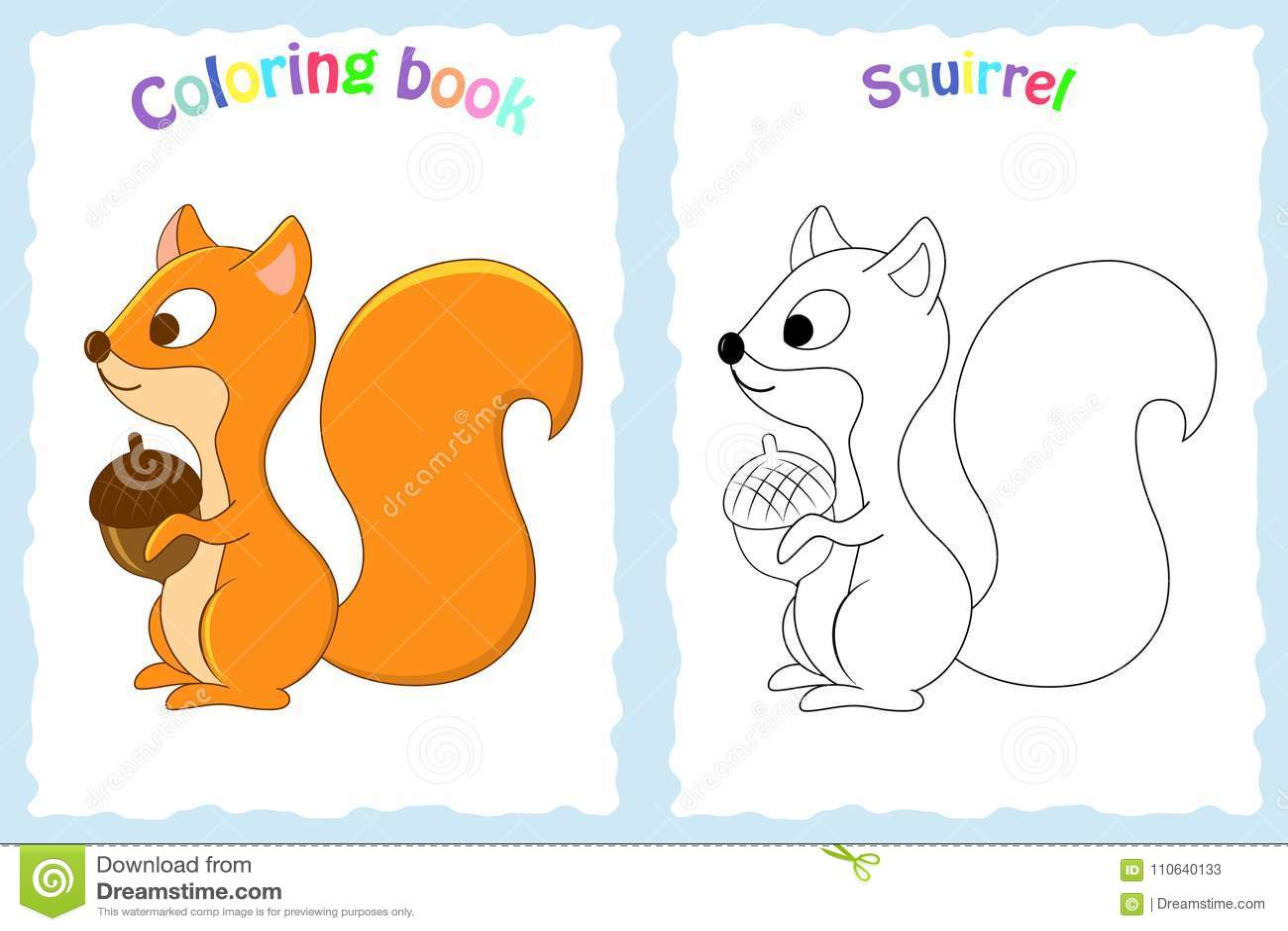 Pagina Do Livro Para Colorir Para Criancas Prees Escolar Com