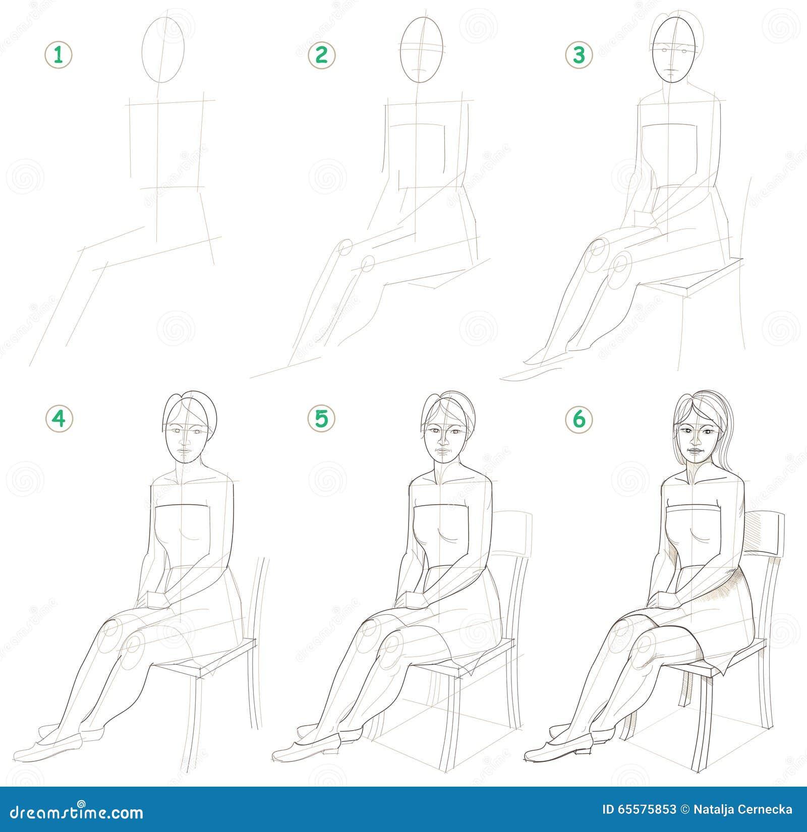 A página mostra como aprender ponto por ponto tirar uma mulher de assento