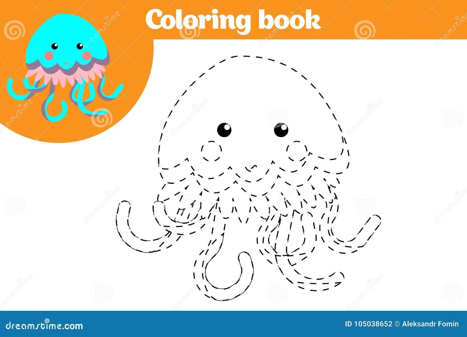Página Que Colorea, Juego De La Educación Para Los Niños Página Que ...