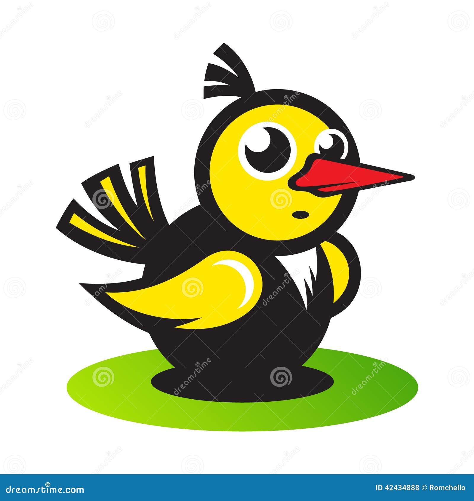 Pájaro del vector