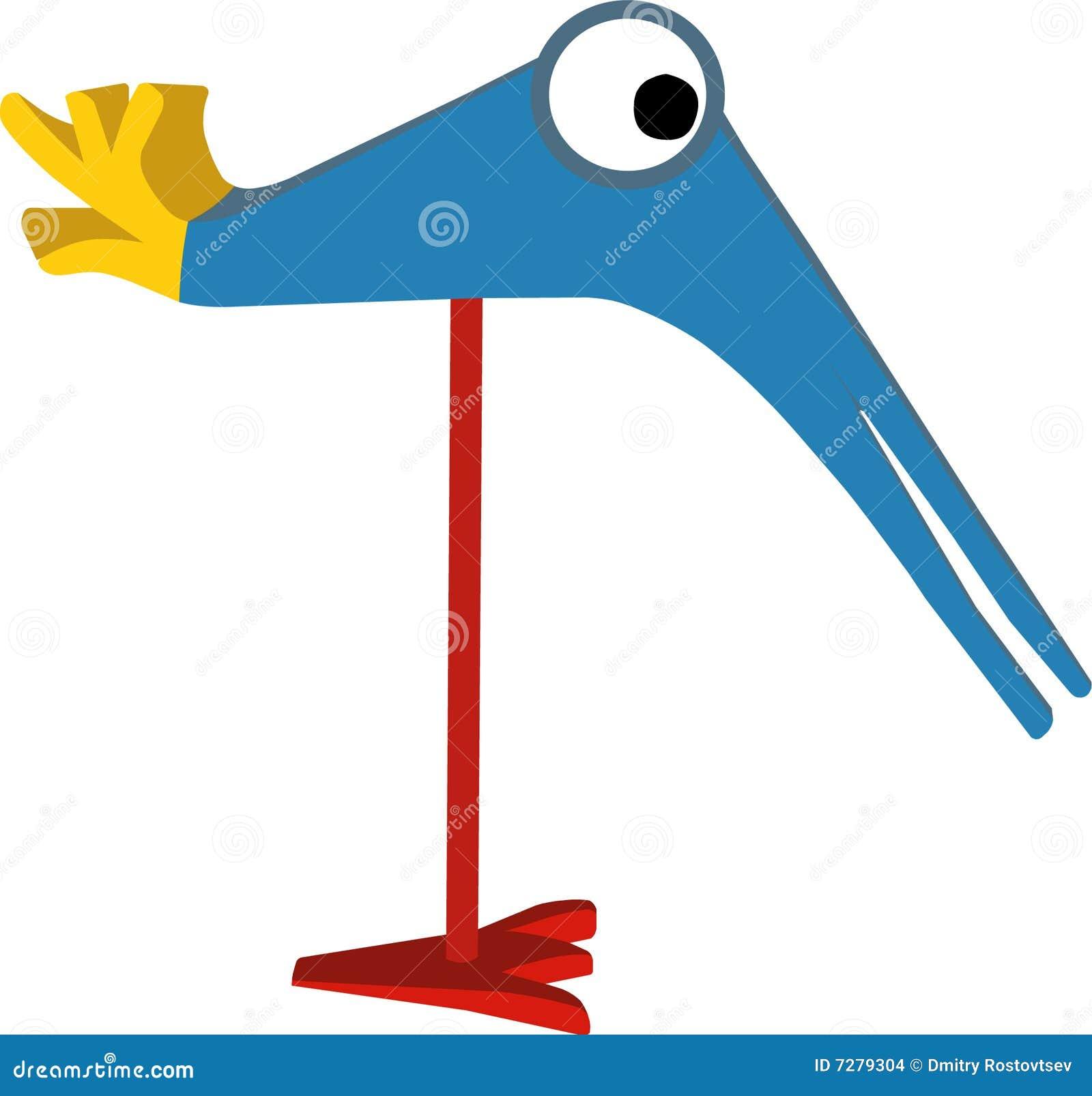 Pájaro divertido