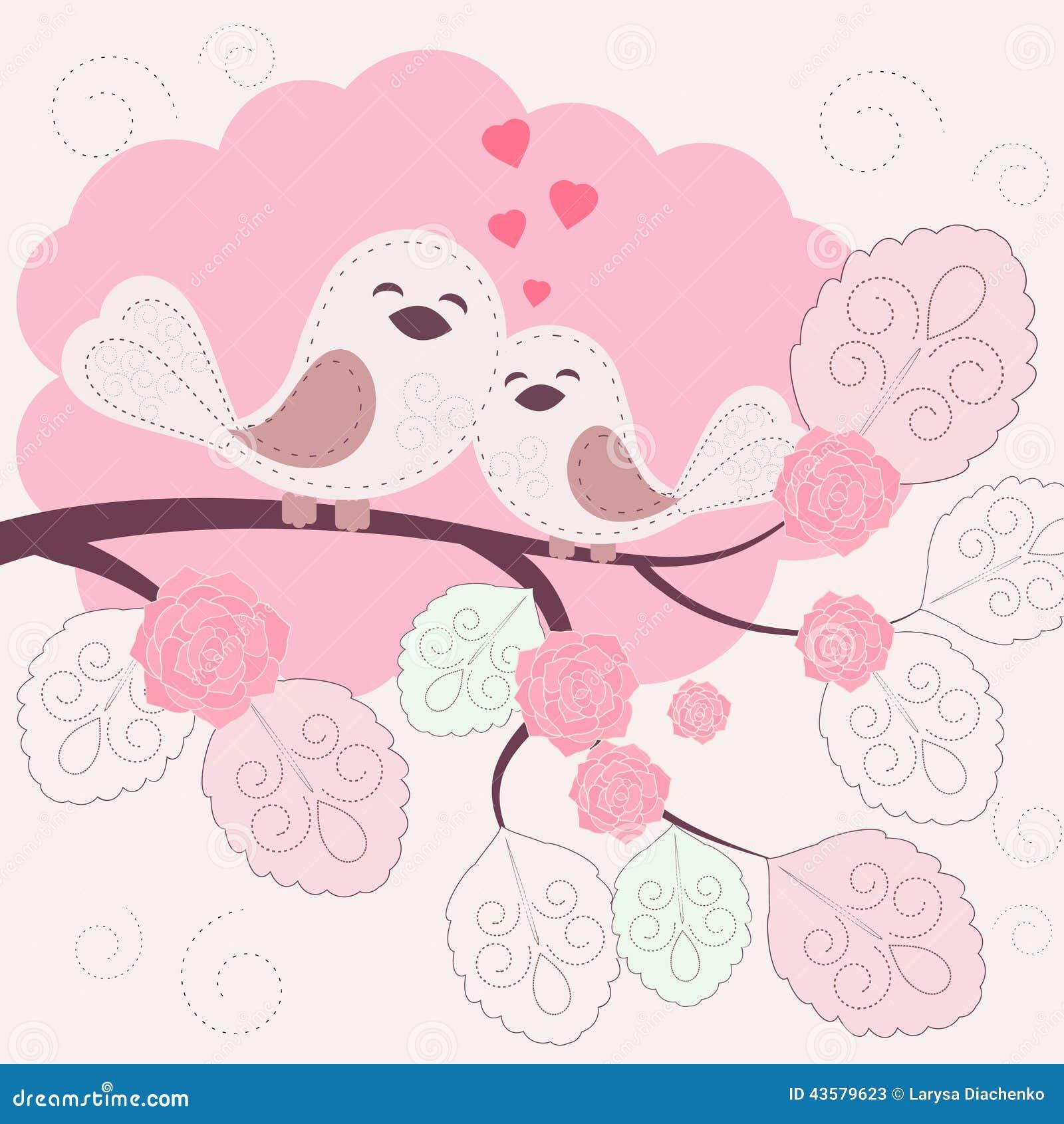 Pájaros cariñosos
