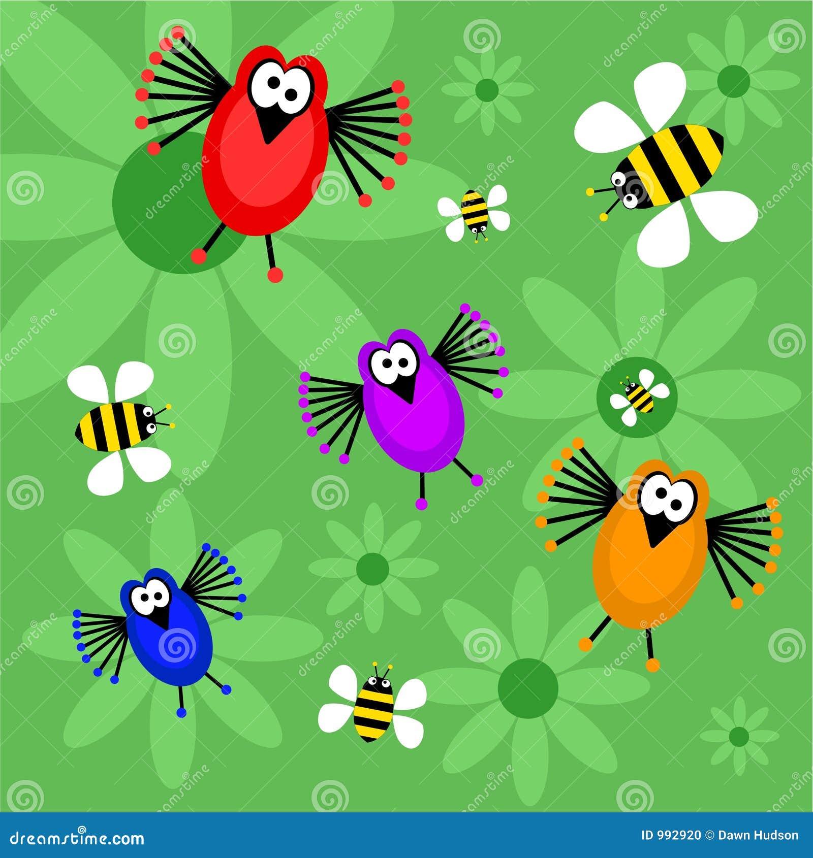Pájaros y abejas