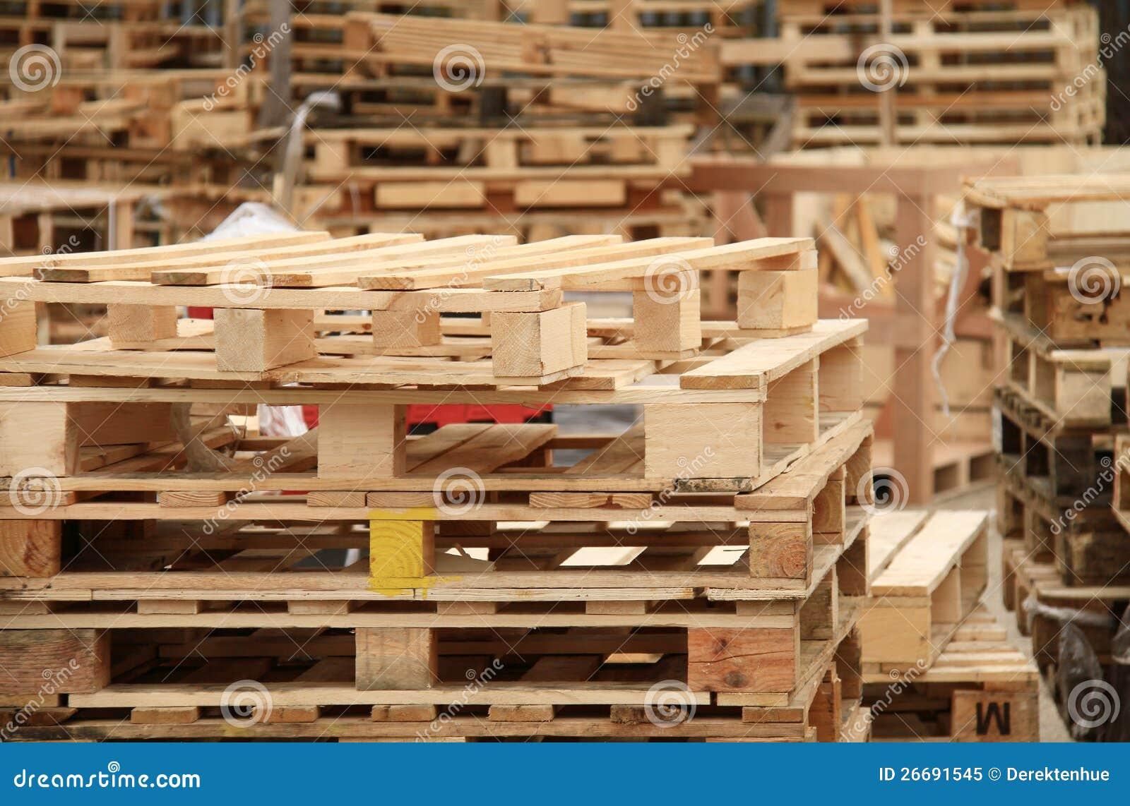 Páletes de madeira