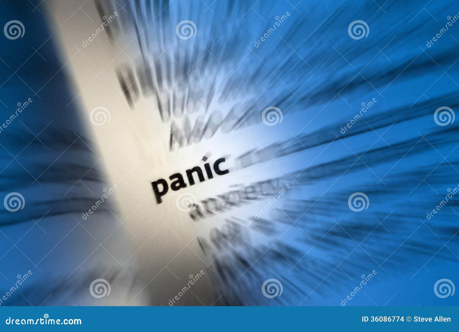 PÁNICO - Ataque de pánico
