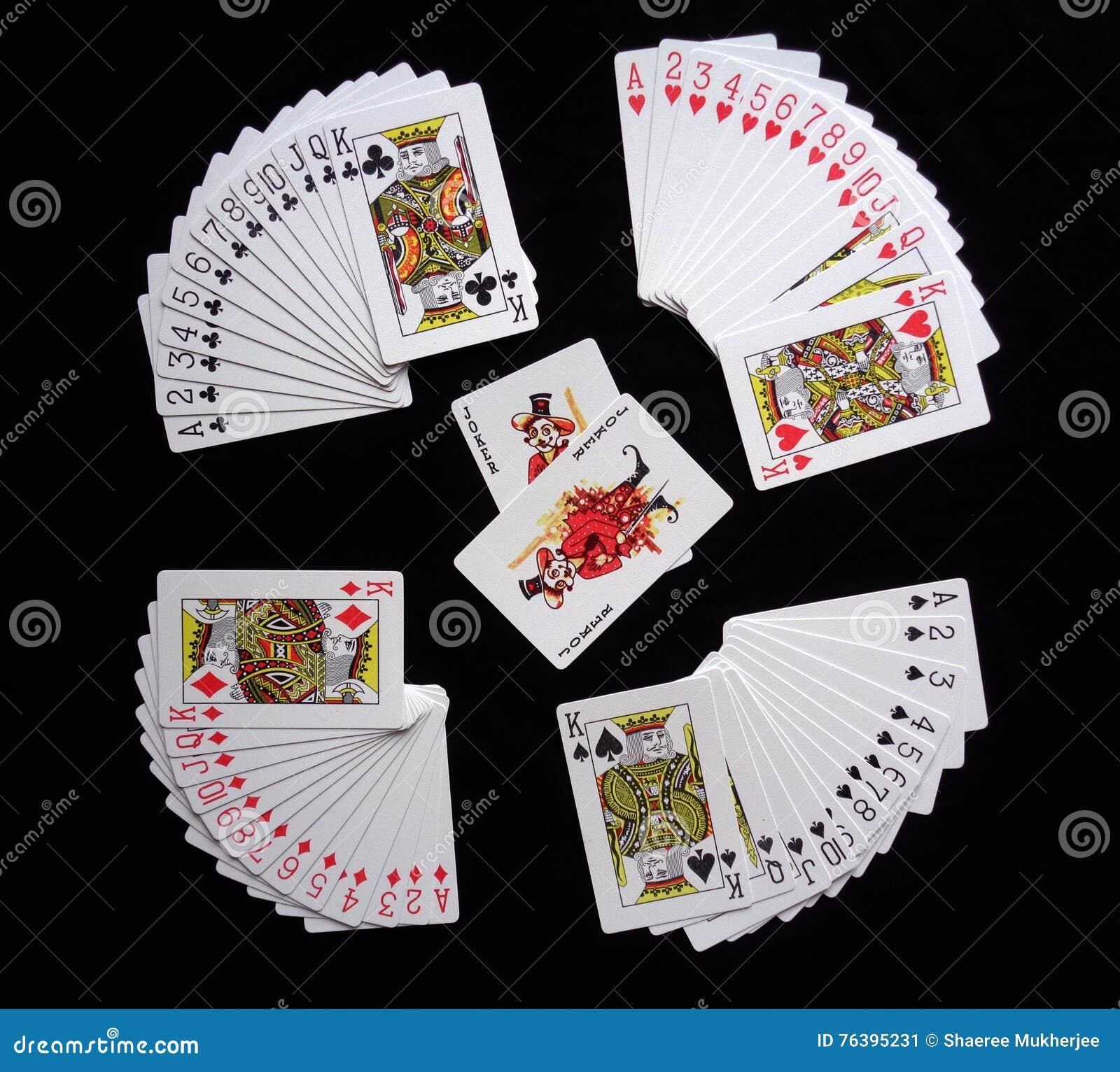 Pás reais do flash do casino dos cartões de jogo