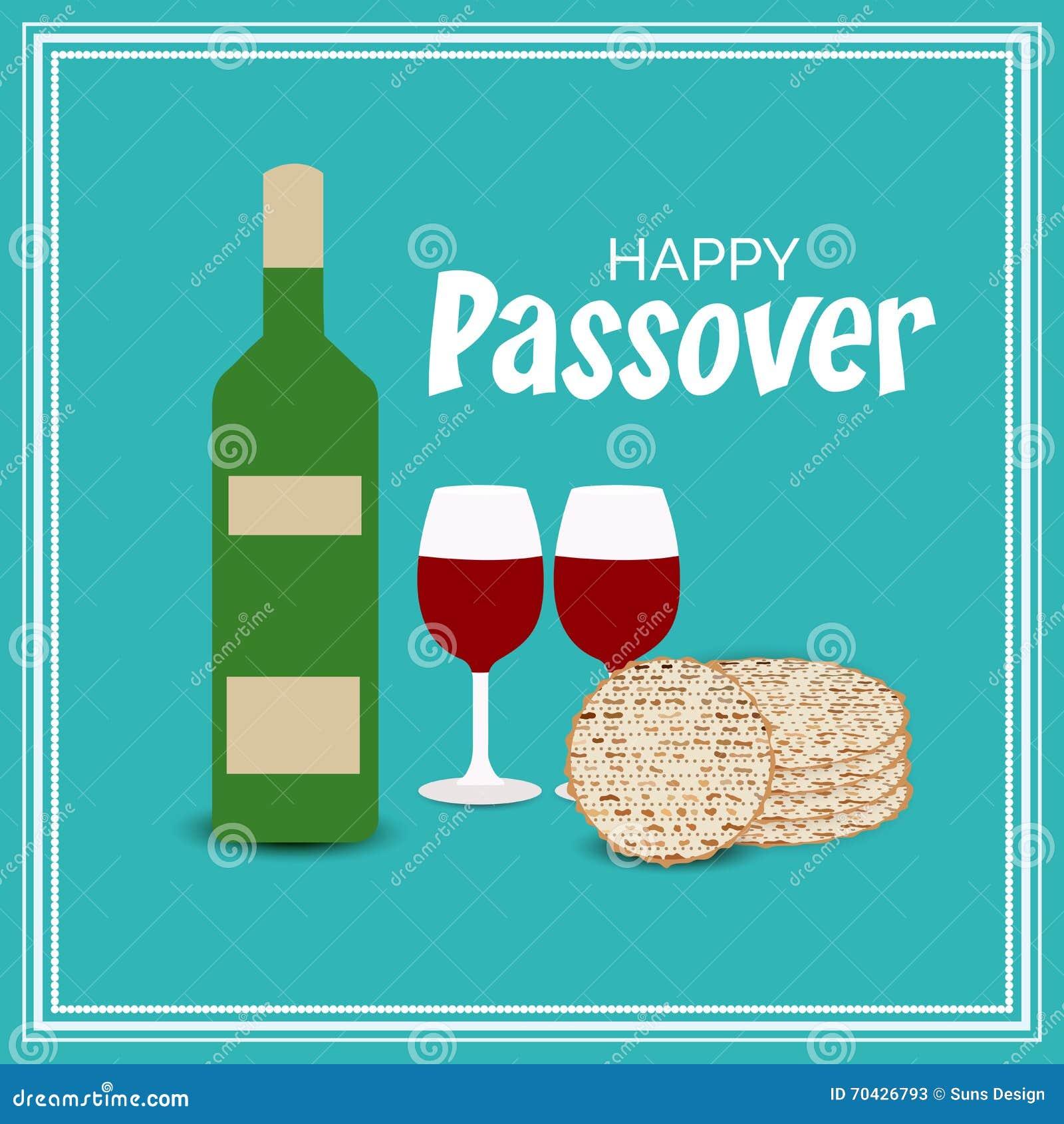Páscoa judaica feliz