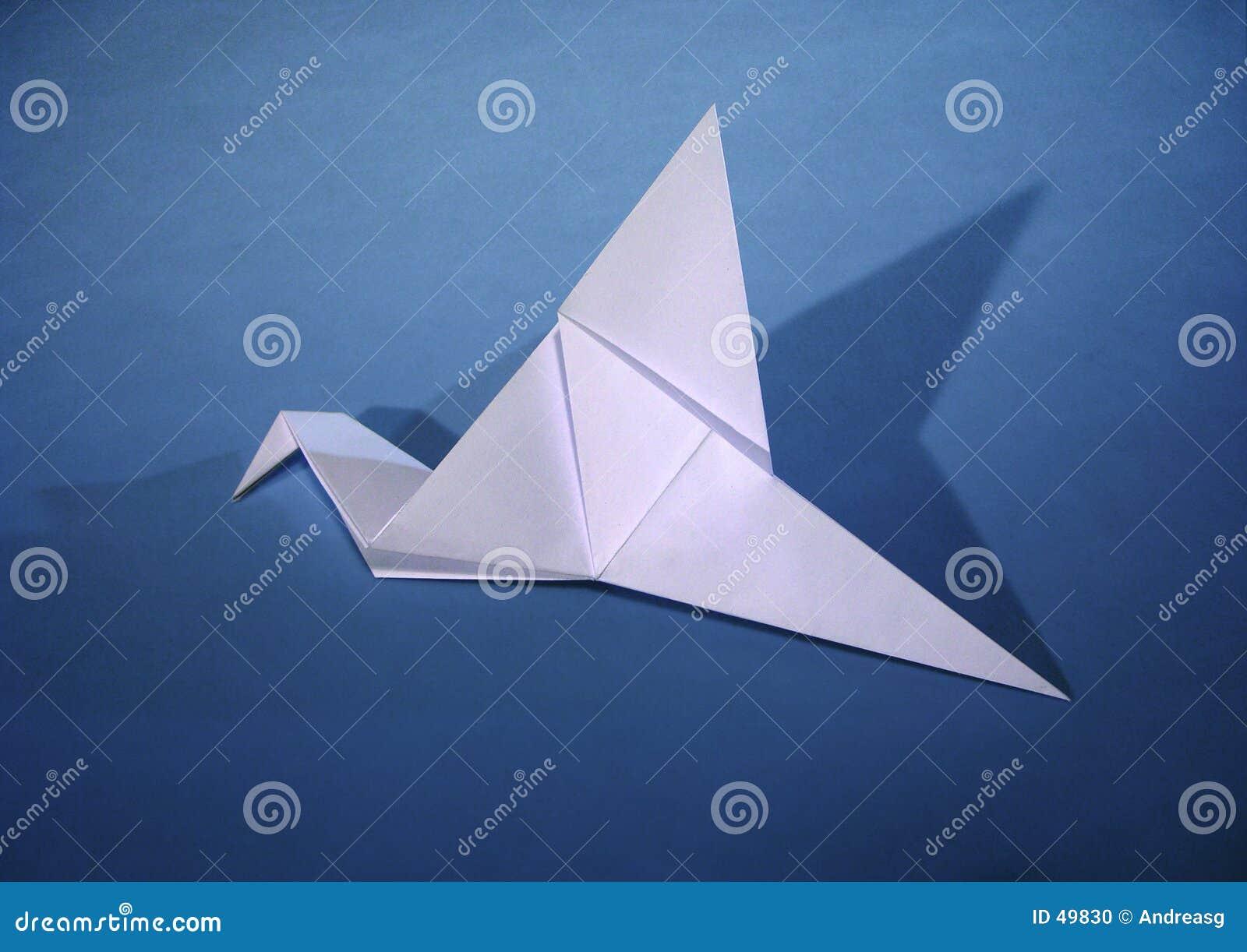 Pássaro de papel