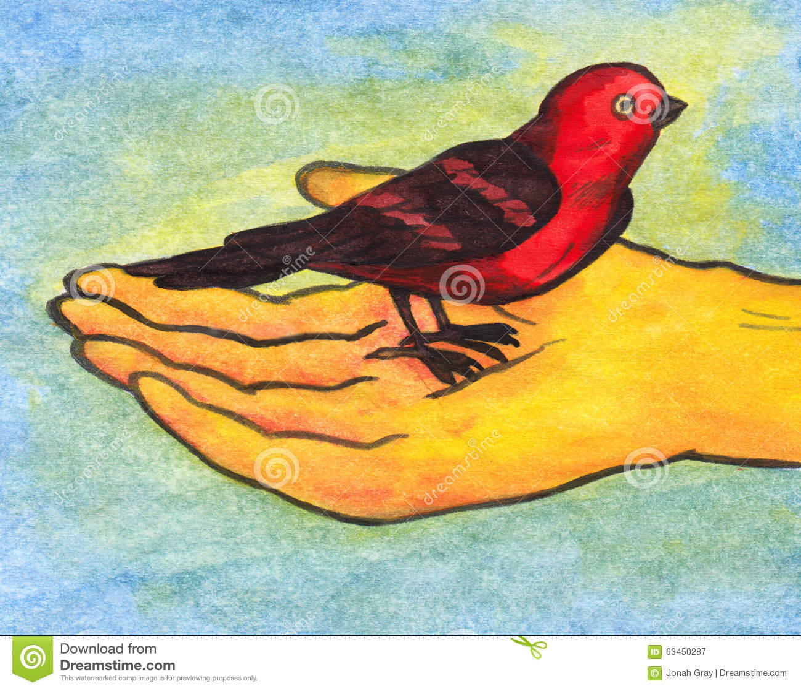 Pássaro de Reiki à disposição (2008)