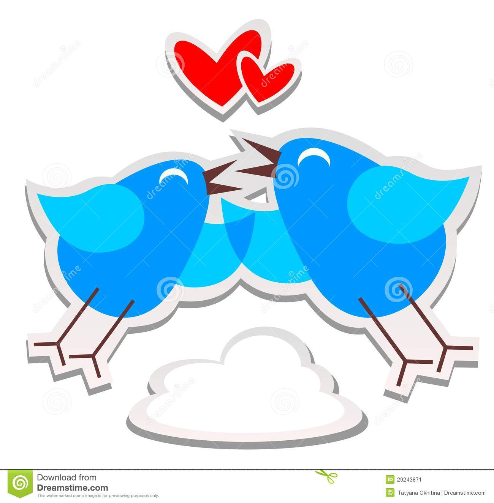 Download Pássaros felizes ilustração do vetor. Ilustração de junto - 29243871