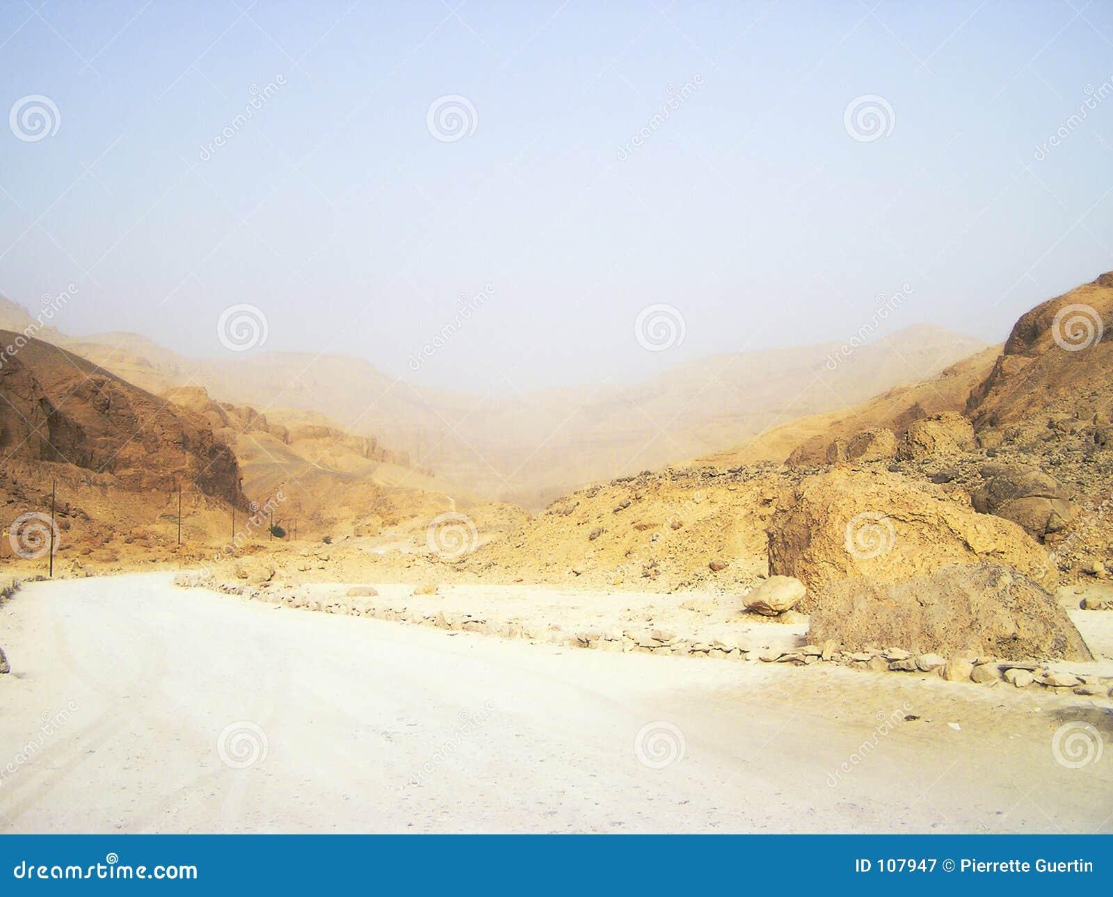 Pátio abandonado 3, Egipto, África