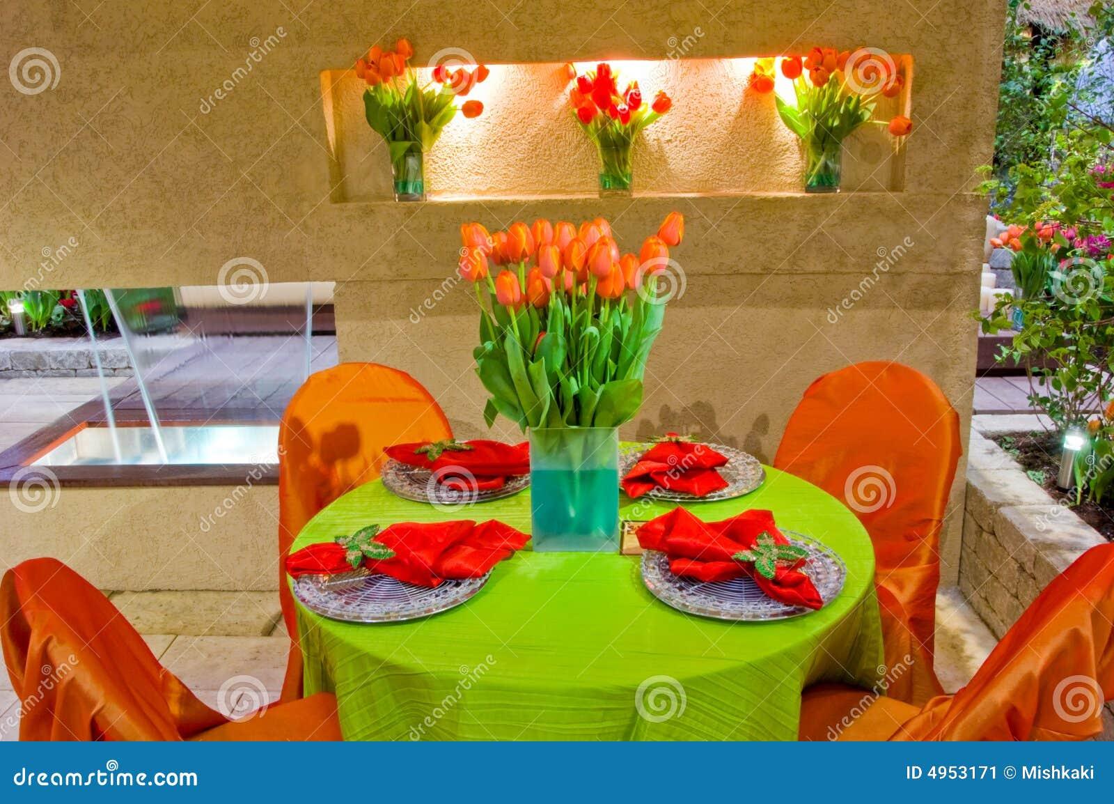 P tio decorado do jardim for Patio decorado