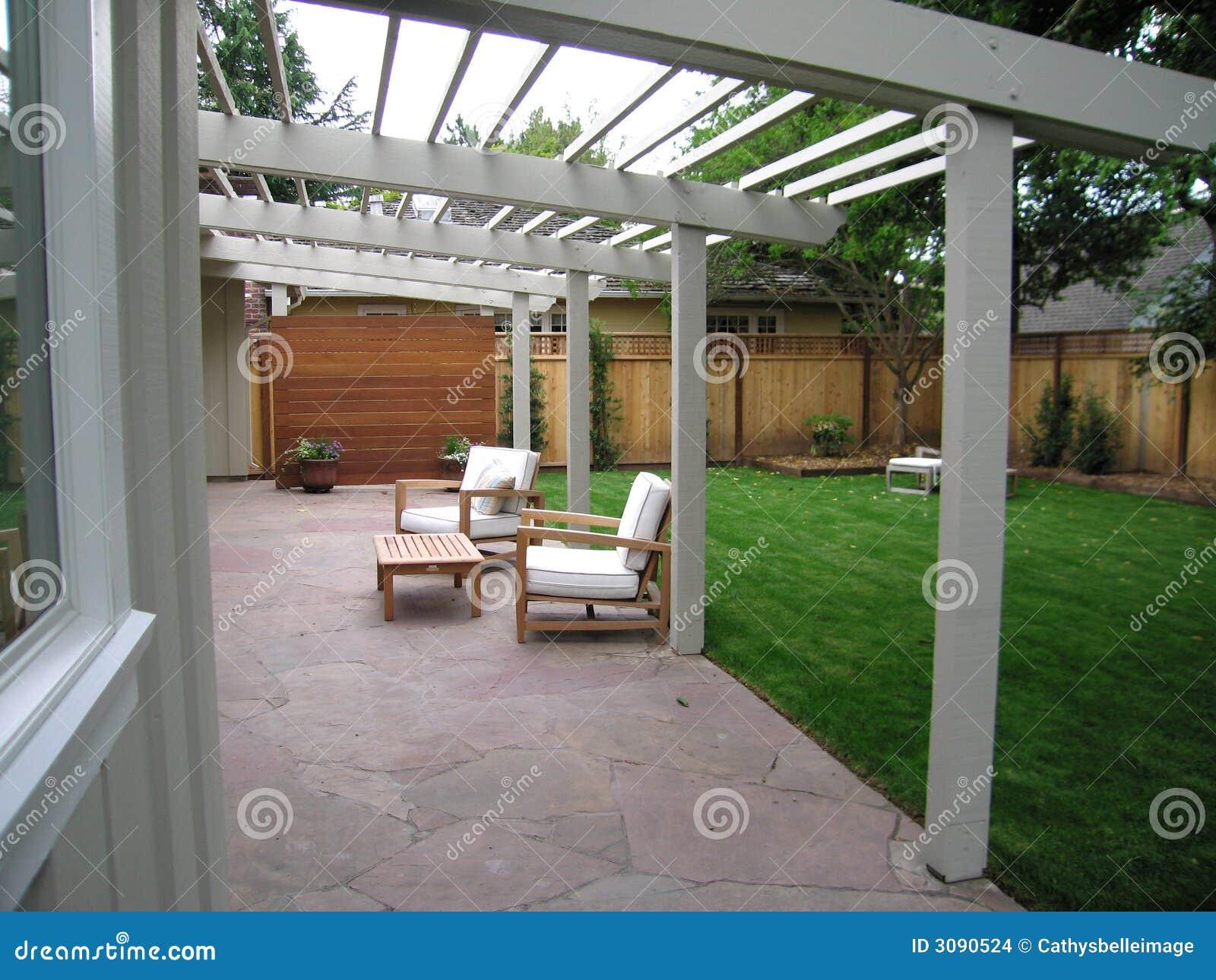 Pátio do quintal