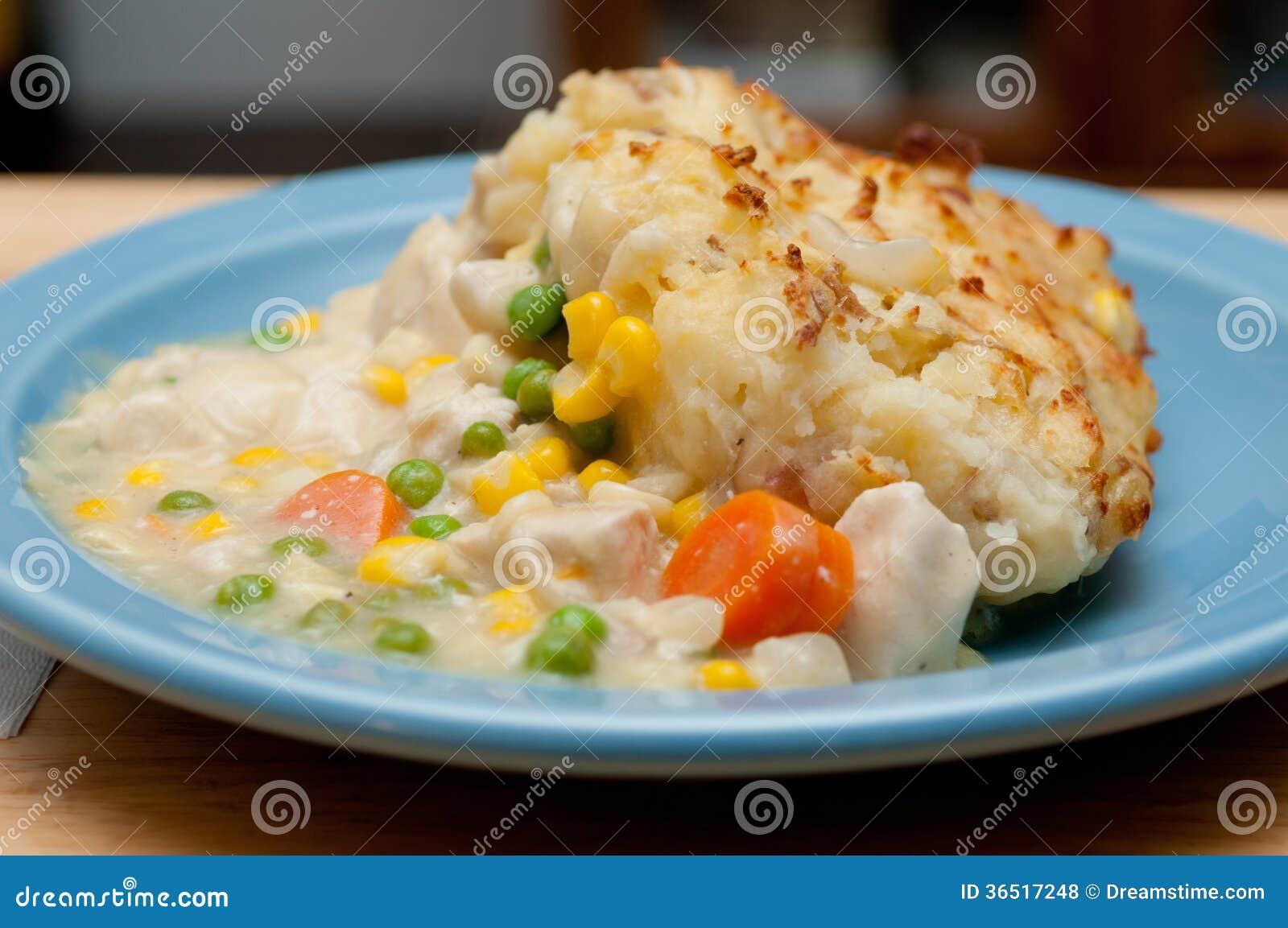 Pâté en croûte de poulet