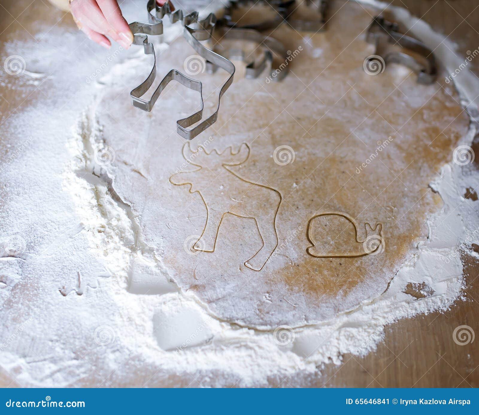 Pâte pour la cuisson des biscuits de gingembre