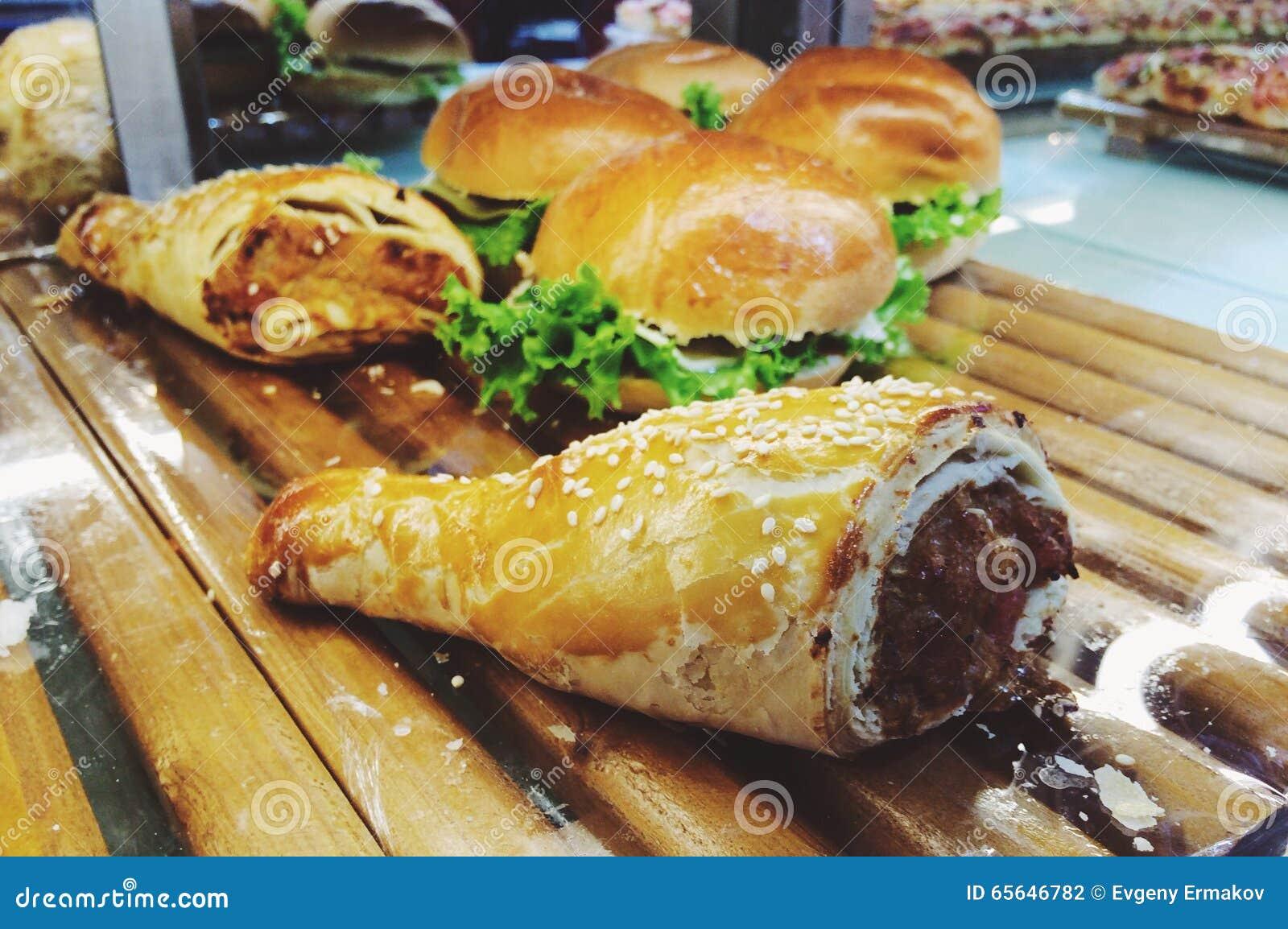 Pâtisserie et hamburgers vietnamiens de style