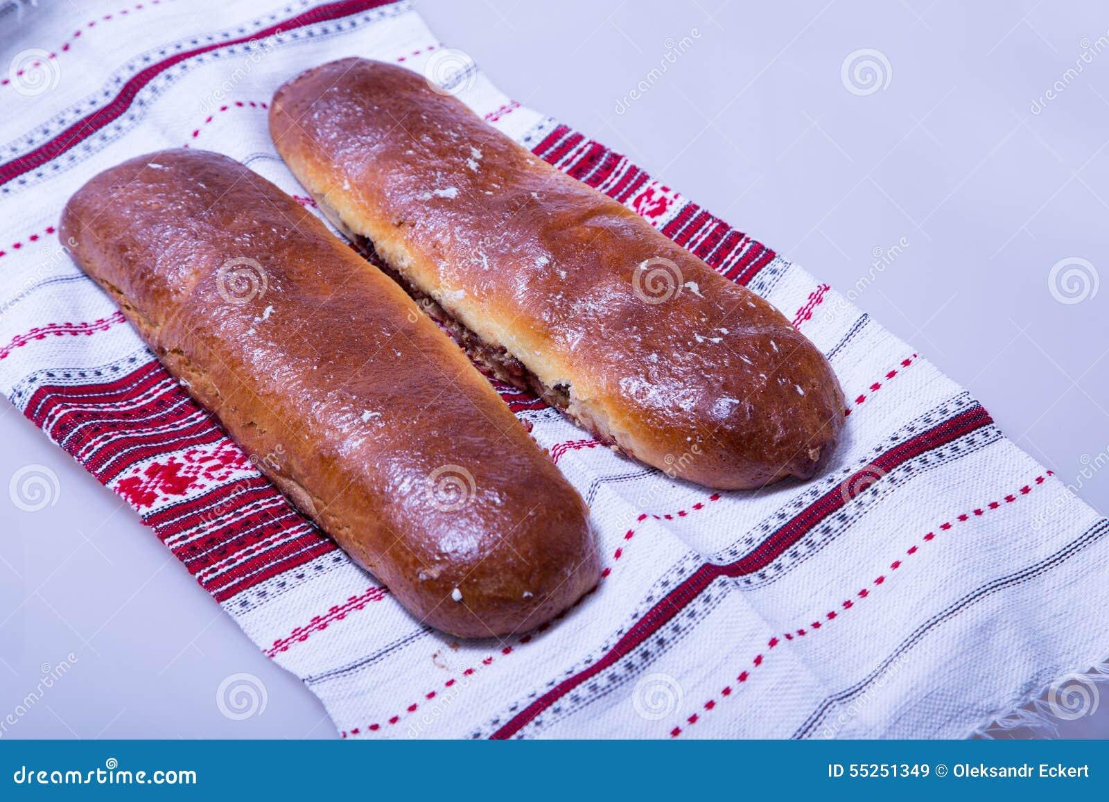 Pâtisserie Ukrainienne Traditionnelle Image stock , Image du