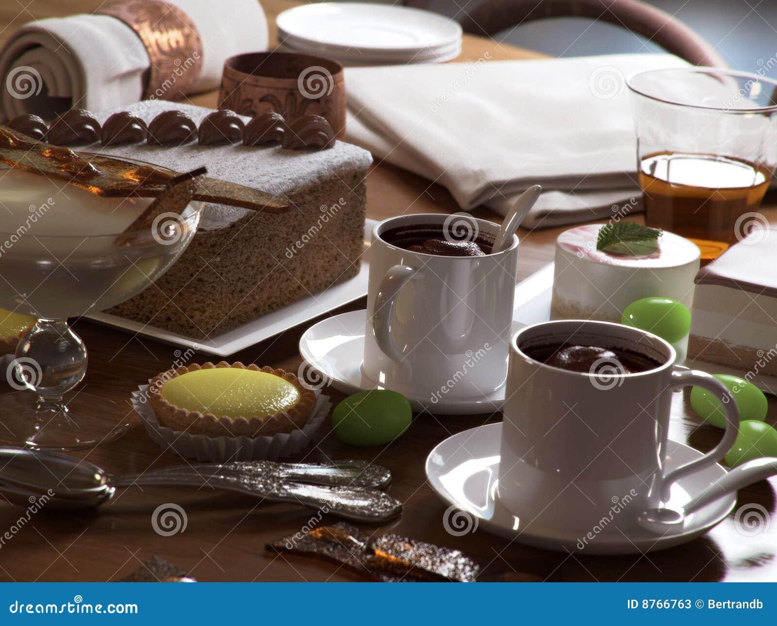 Pâtisseries et desserts doux