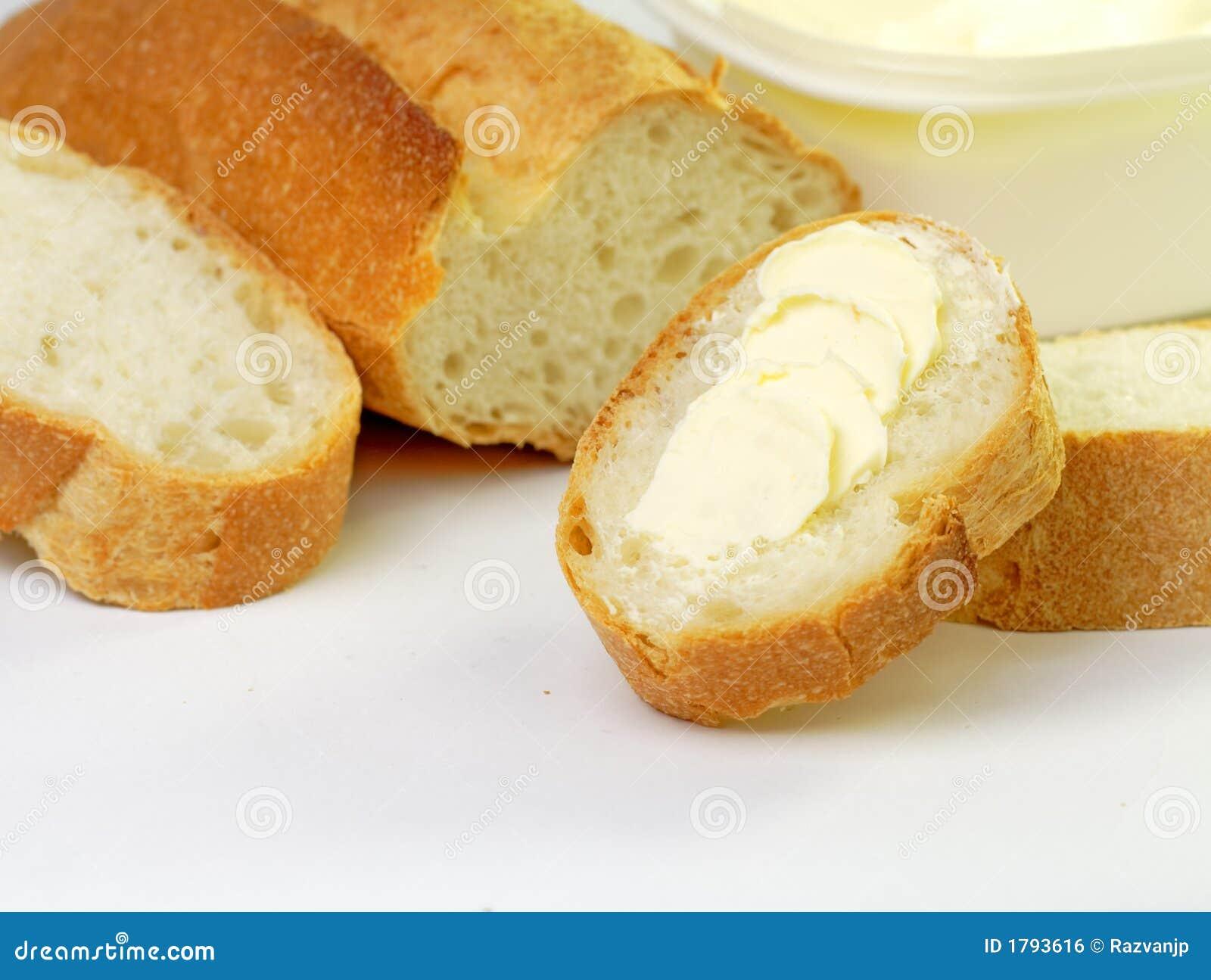 Pão com margarina