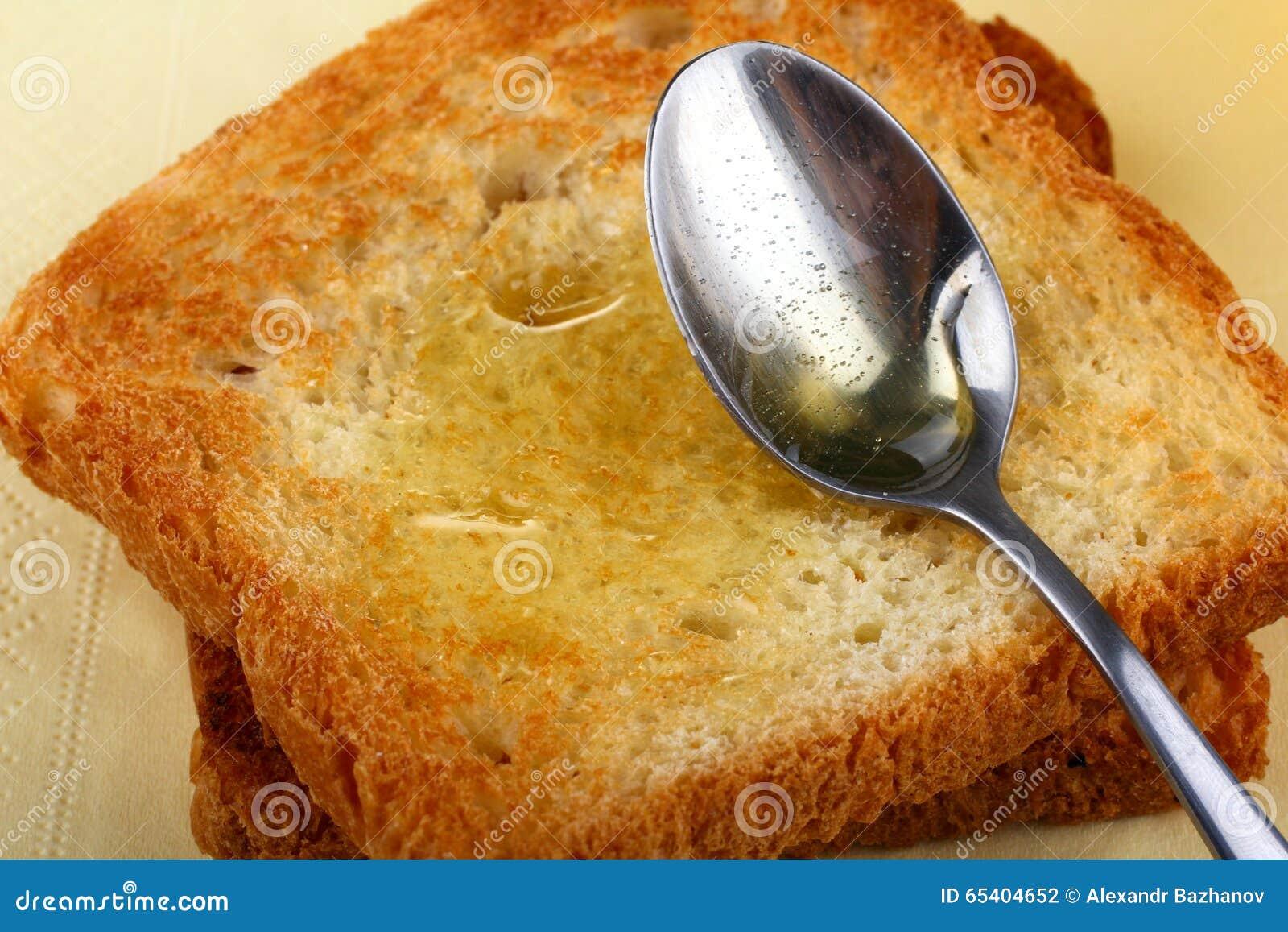 Pão com mel