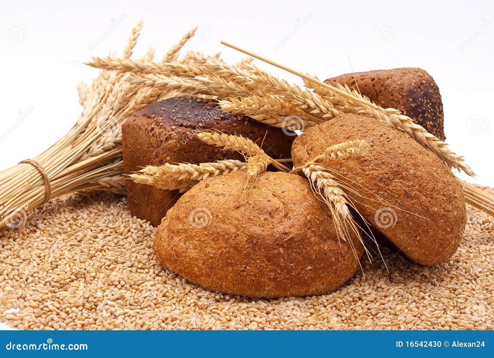 Pão com trigo e orelhas