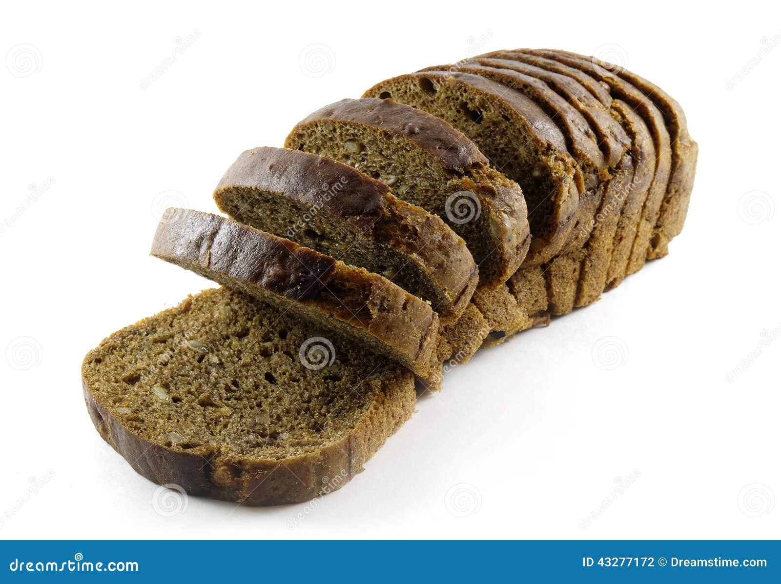 Pão de Brown com sementes