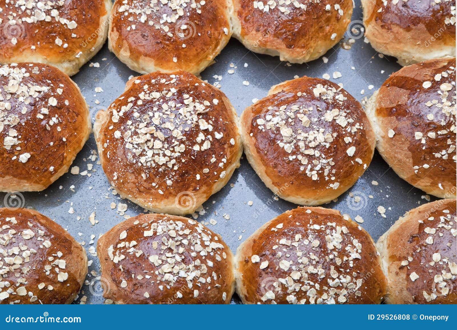 Pão de Molassas da farinha de aveia